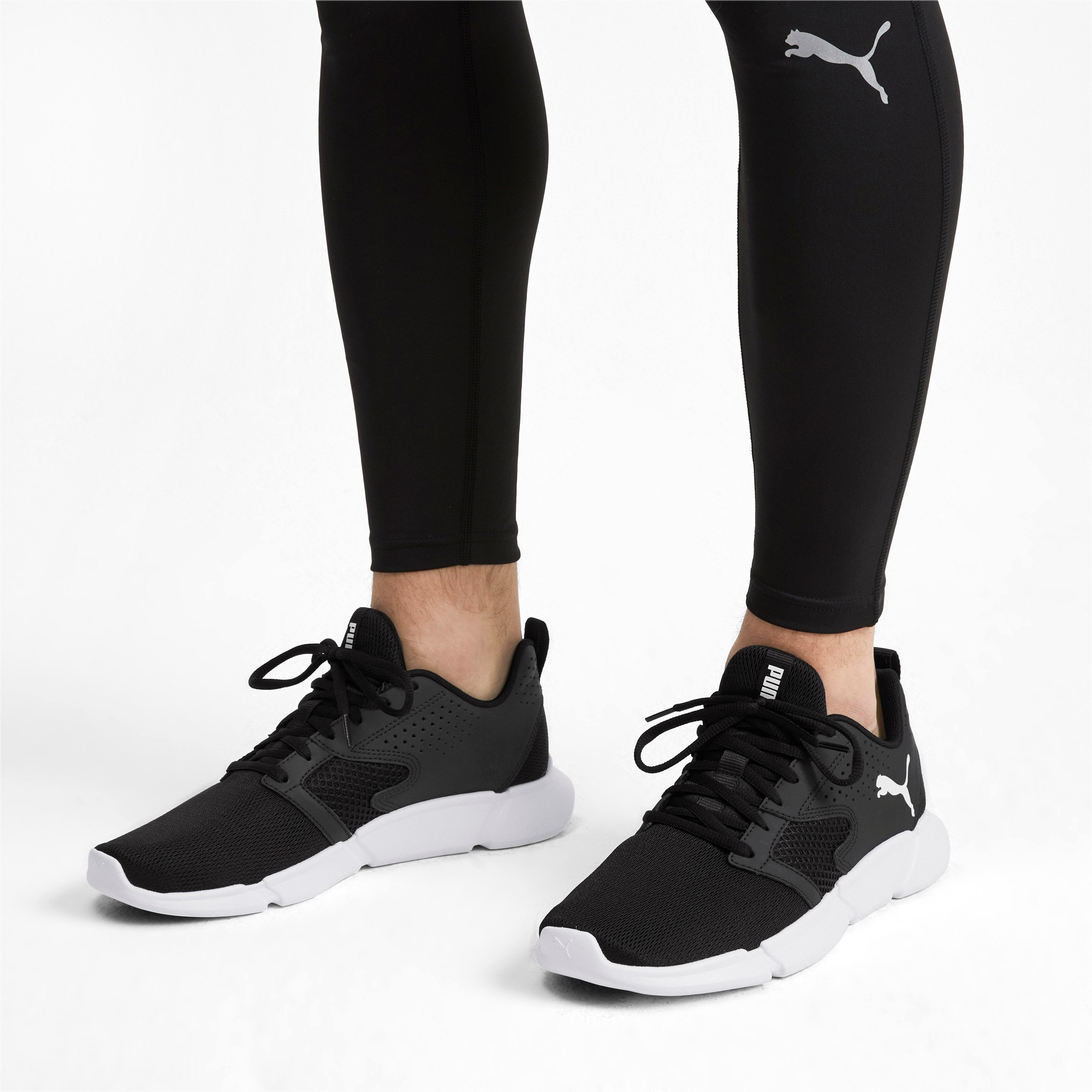 Thumbnail 3 of INTERFLEX Modern Sneakers, Puma Black-Puma White, medium