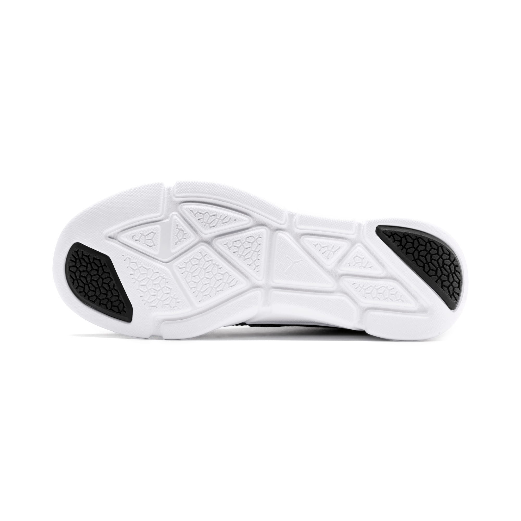 Thumbnail 6 of INTERFLEX Modern Running Shoes, Puma Black-Puma White, medium-IND