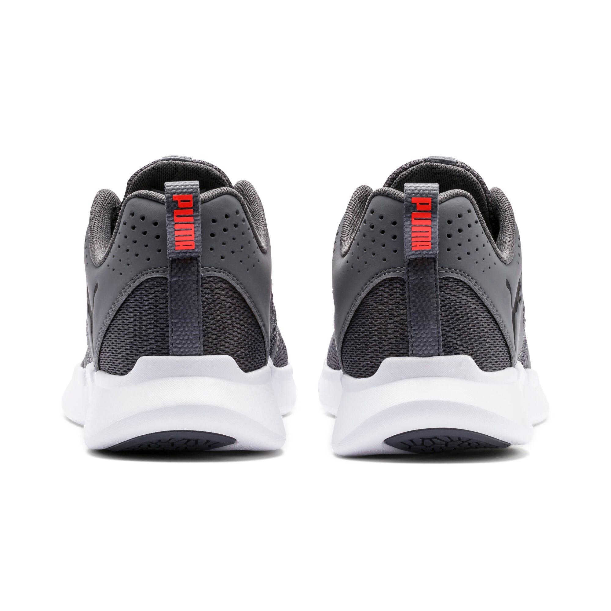 Thumbnail 5 of INTERFLEX Modern Sneakers, CASTLEROCK-Black-Nrgy Red, medium