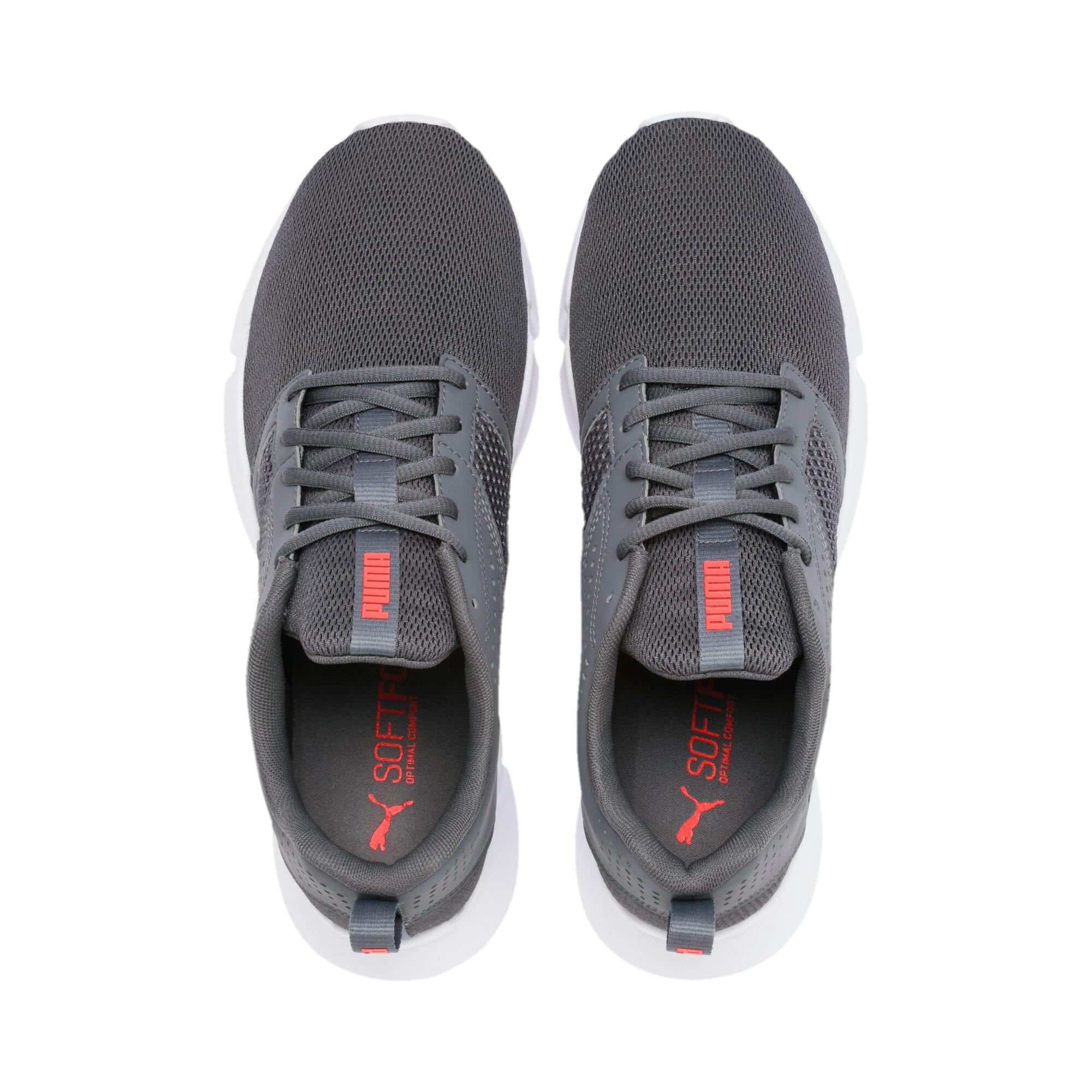 Thumbnail 4 of INTERFLEX Modern Running Shoes, CASTLEROCK-Black-Nrgy Red, medium-IND