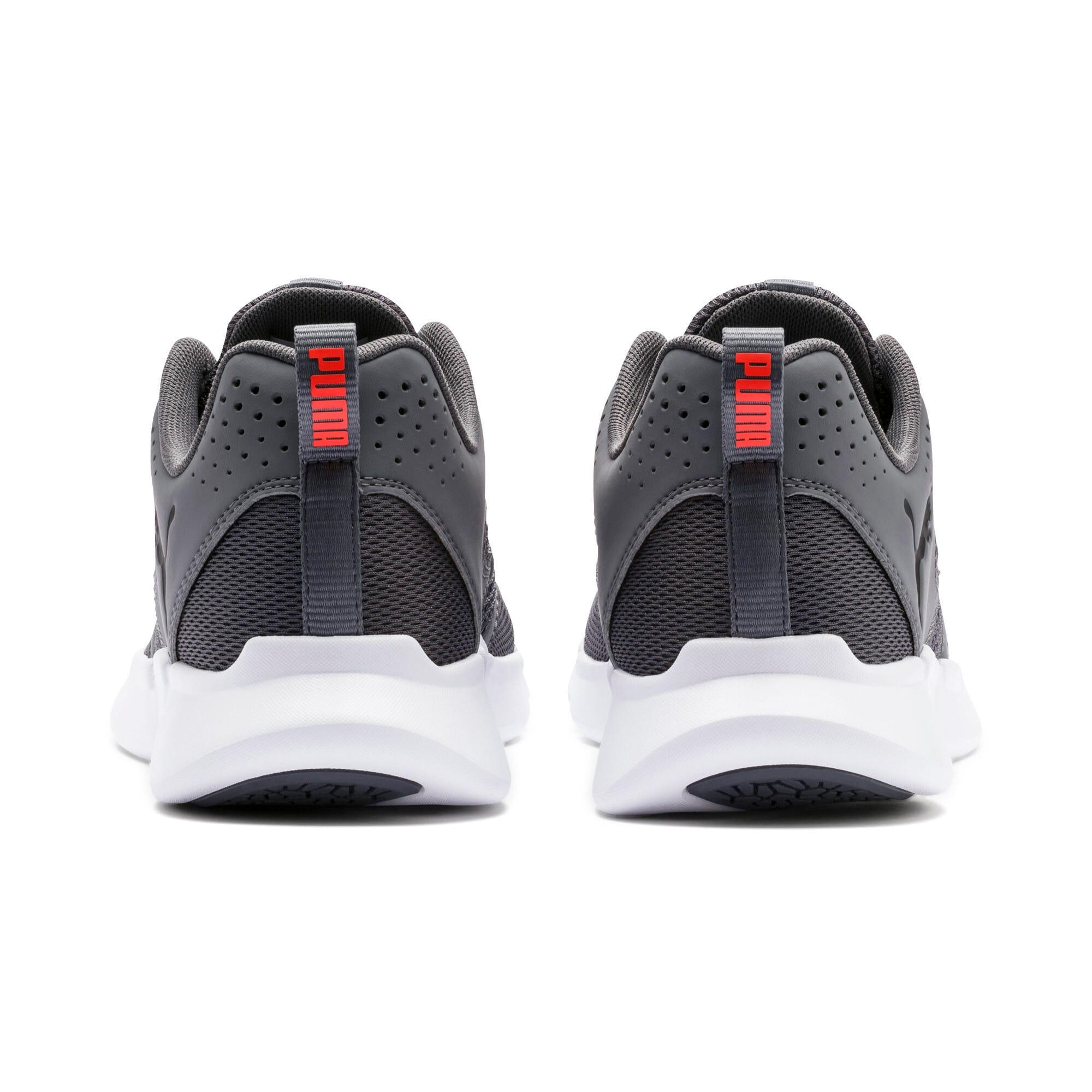 Thumbnail 7 of INTERFLEX Modern Running Shoes, CASTLEROCK-Black-Nrgy Red, medium-IND