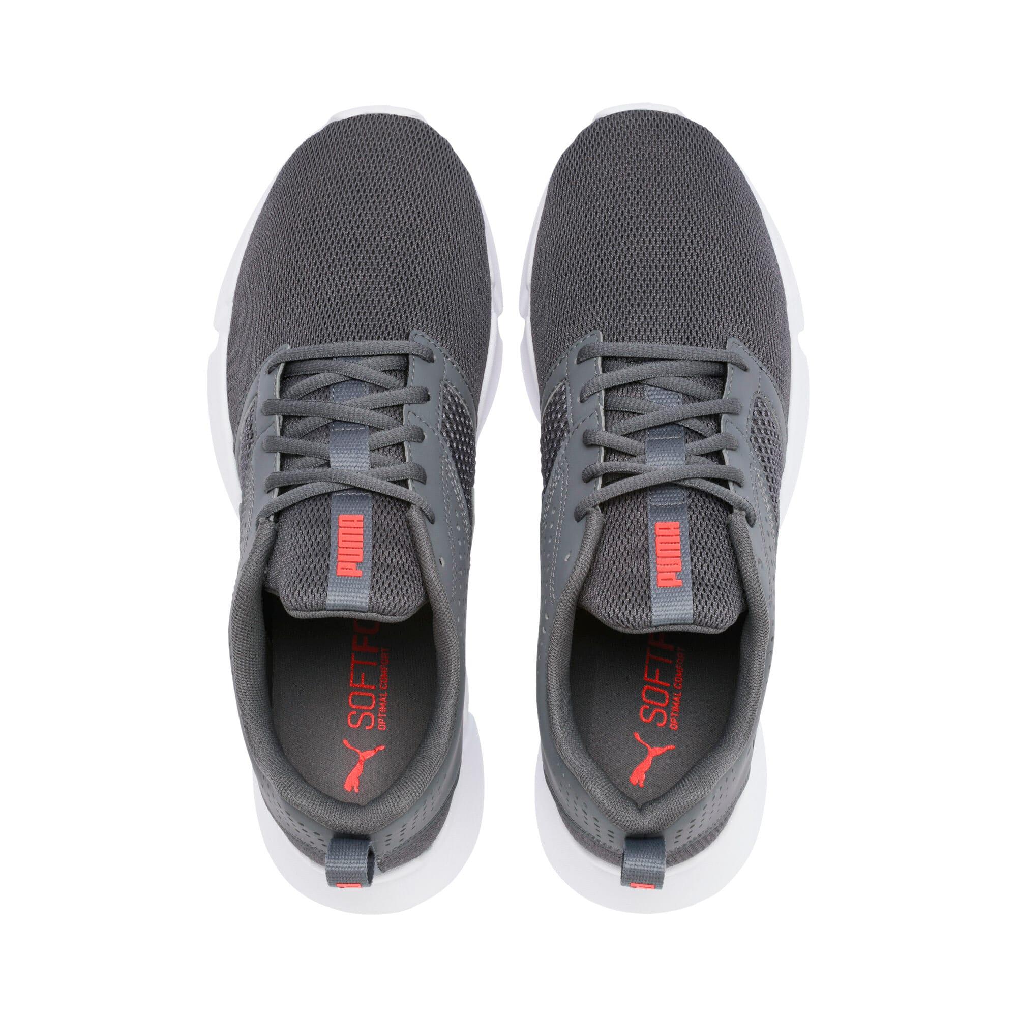 Thumbnail 7 of INTERFLEX Modern Sneakers, CASTLEROCK-Black-Nrgy Red, medium