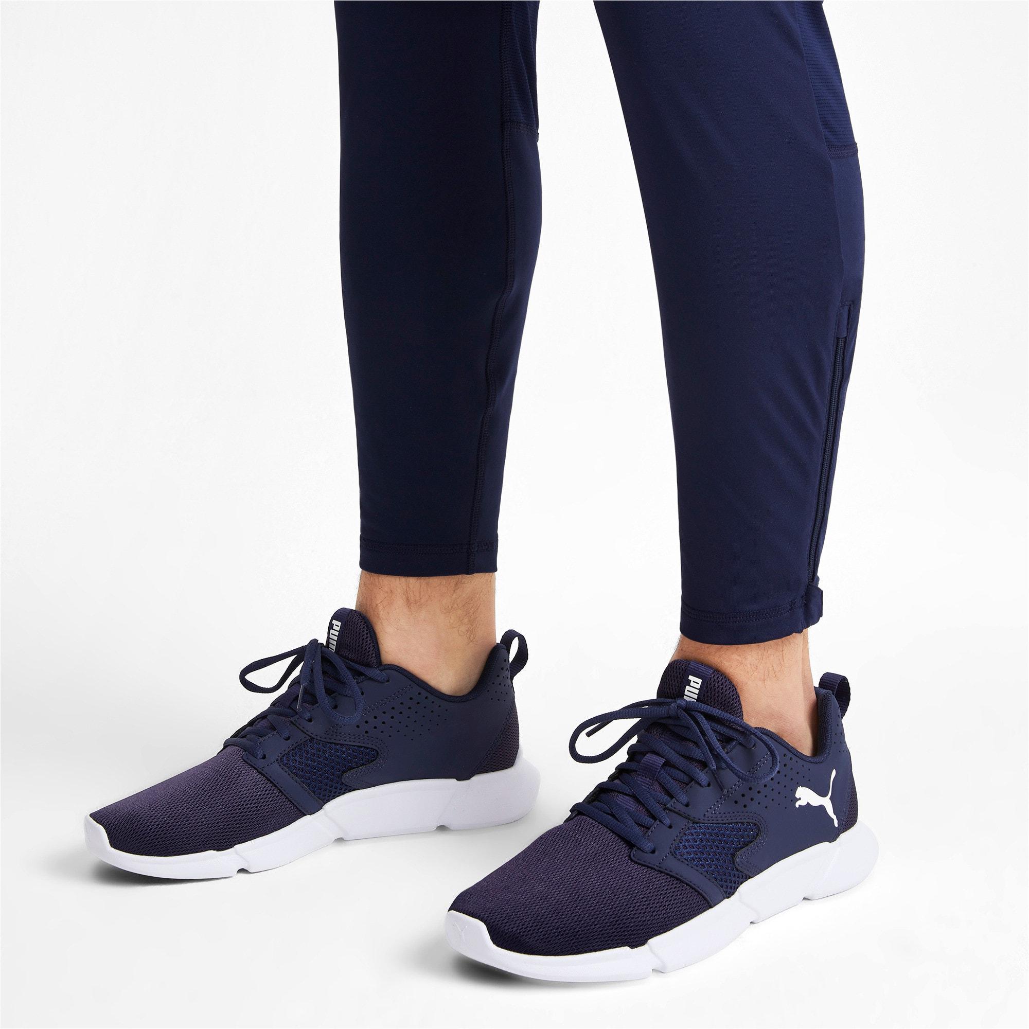 Thumbnail 2 of INTERFLEX Modern Running Shoes, Peacoat-Puma White, medium-IND