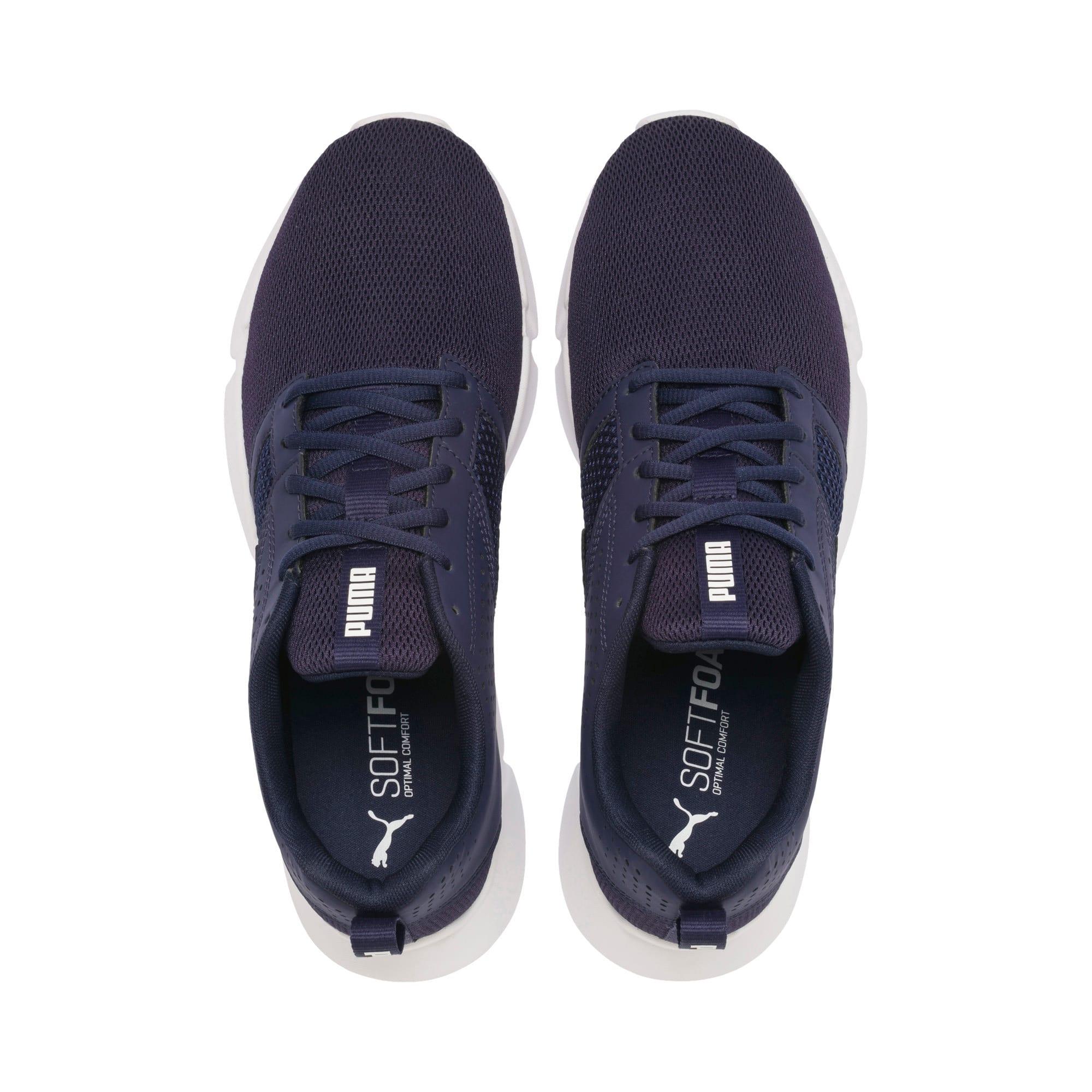 Thumbnail 8 of INTERFLEX Modern Running Shoes, Peacoat-Puma White, medium-IND