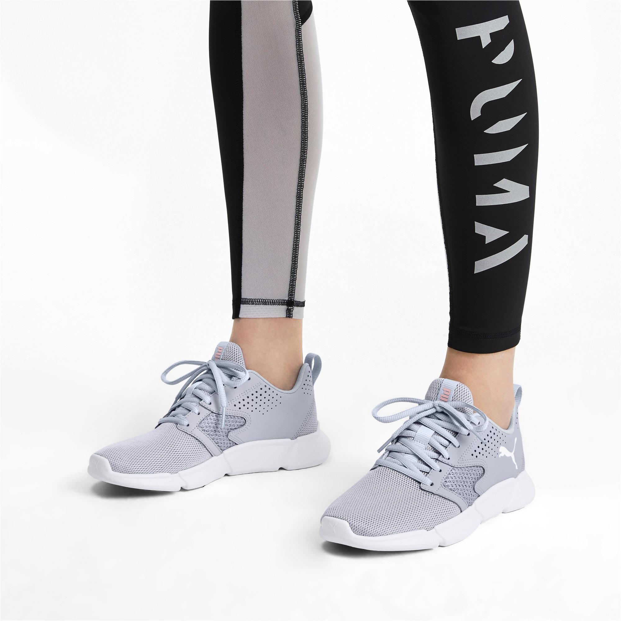 Thumbnail 3 of INTERFLEX Modern Running Shoes, Grey Dawn-Bridal Rose, medium-IND