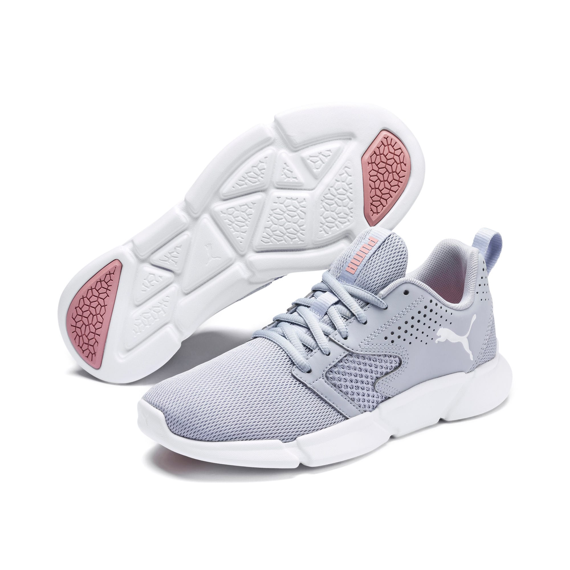 Thumbnail 8 of INTERFLEX Modern Running Shoes, Grey Dawn-Bridal Rose, medium-IND