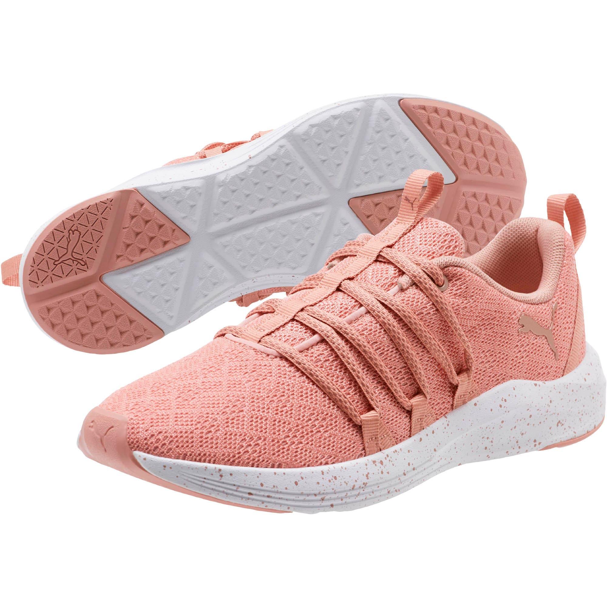 Thumbnail 2 of Prowl Alt Mesh Speckle Women's Training Shoes, Peach Beige-Puma White, medium