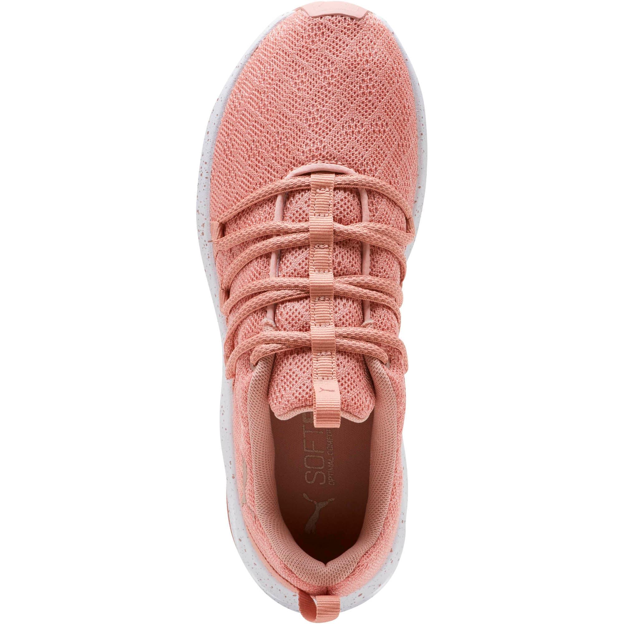 Thumbnail 5 of Prowl Alt Mesh Speckle Women's Training Shoes, Peach Beige-Puma White, medium