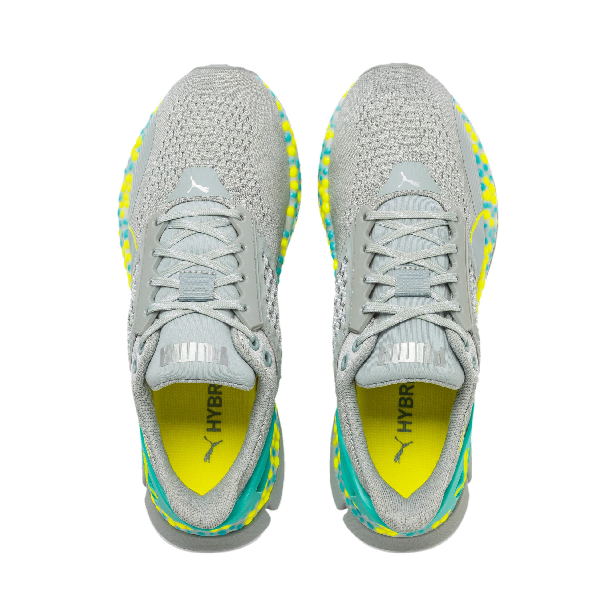 Miniatura 9 de Zapatos para correr HYBRID Astro para mujer, Quarry-Yellow Alert, mediano
