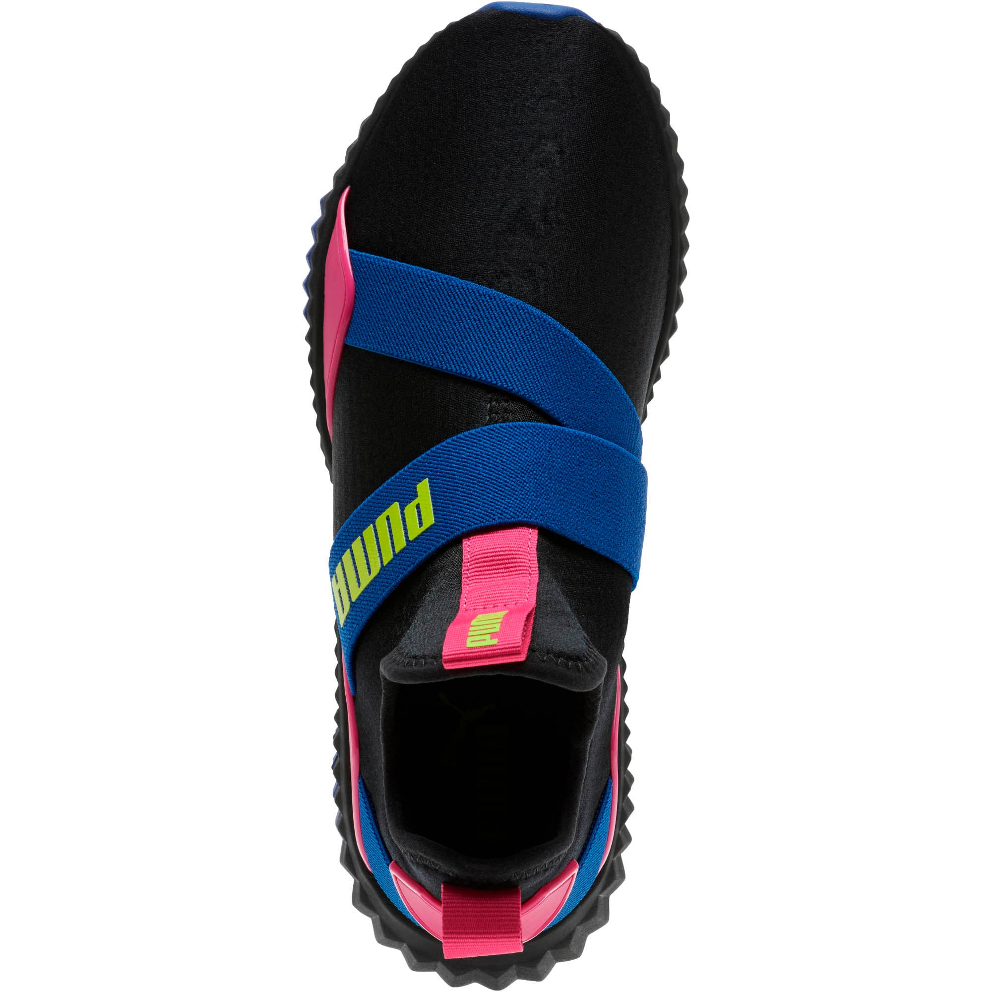 Defy Mid 90s Women's Training Shoes, Puma Black-Surf The Web, large