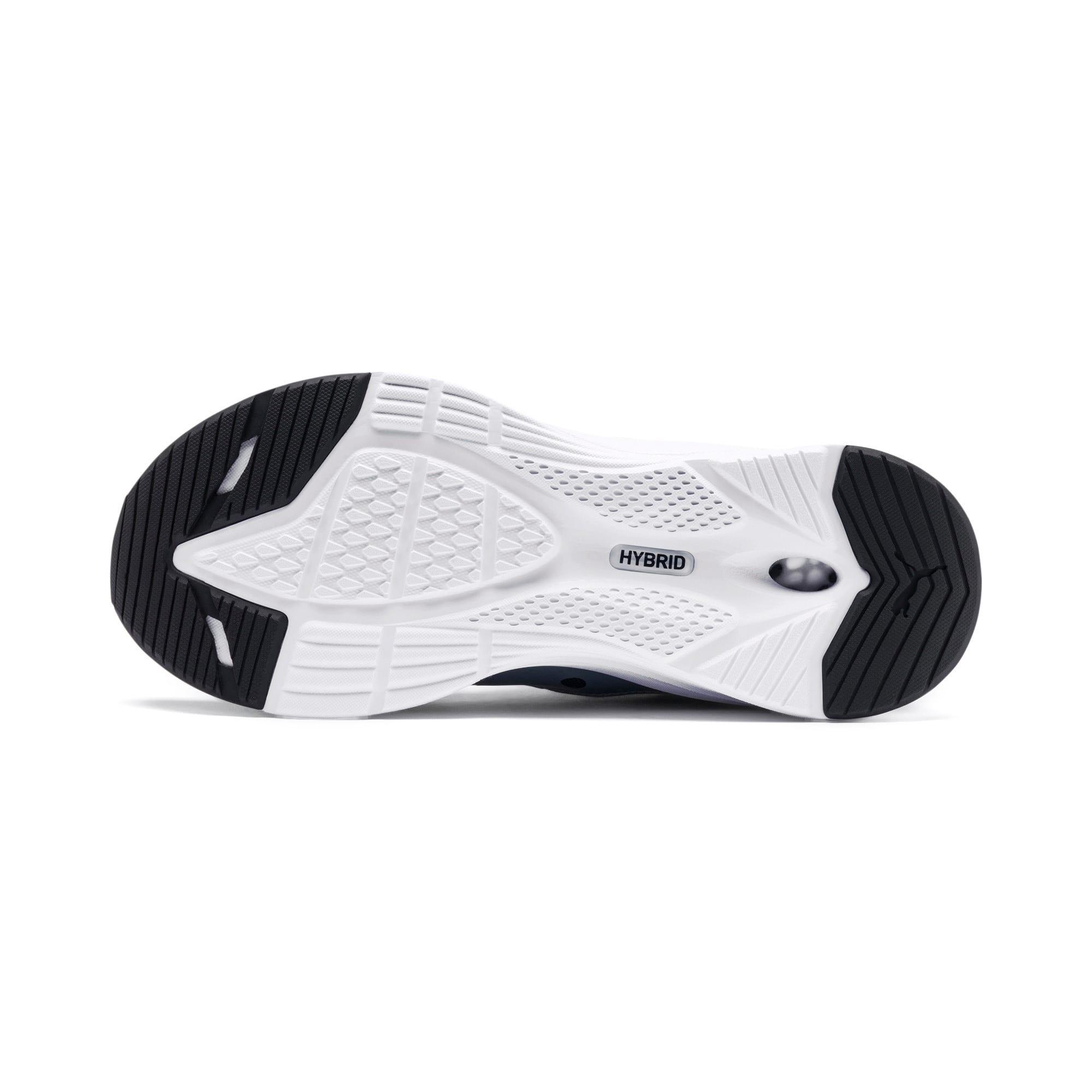 Thumbnail 4 of HYBRID Fuego Running Shoes JR, Puma Black-Puma White, medium