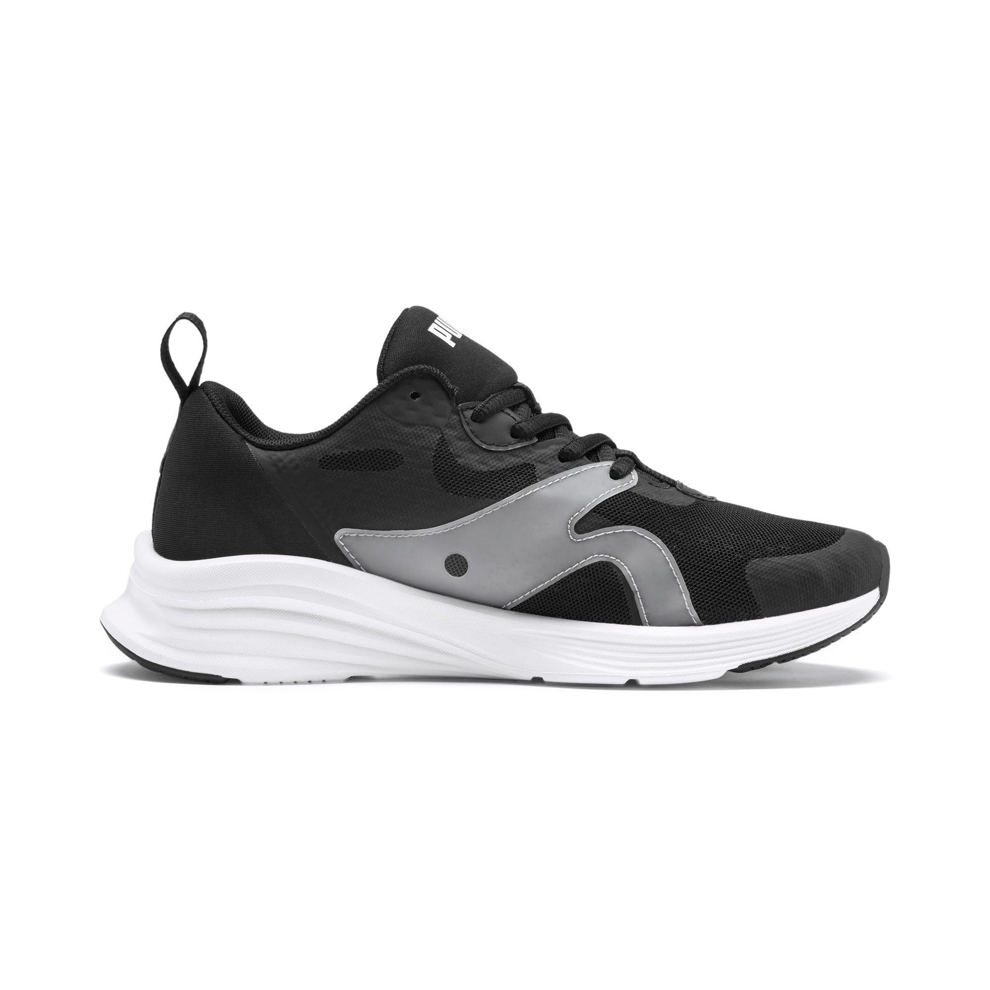 Thumbnail 5 of HYBRID Fuego Running Shoes JR, Puma Black-Puma White, medium