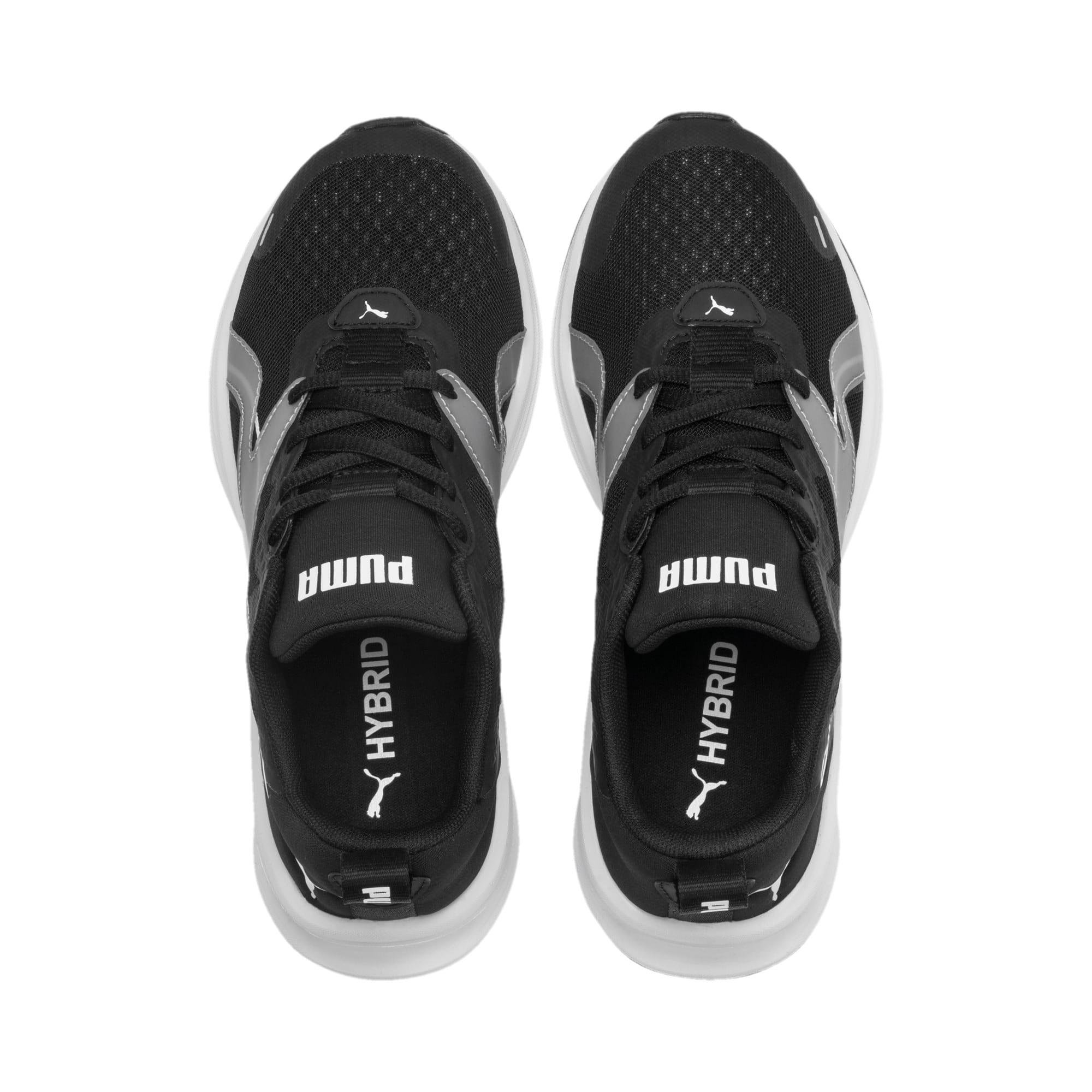 Thumbnail 6 of HYBRID Fuego Running Shoes JR, Puma Black-Puma White, medium