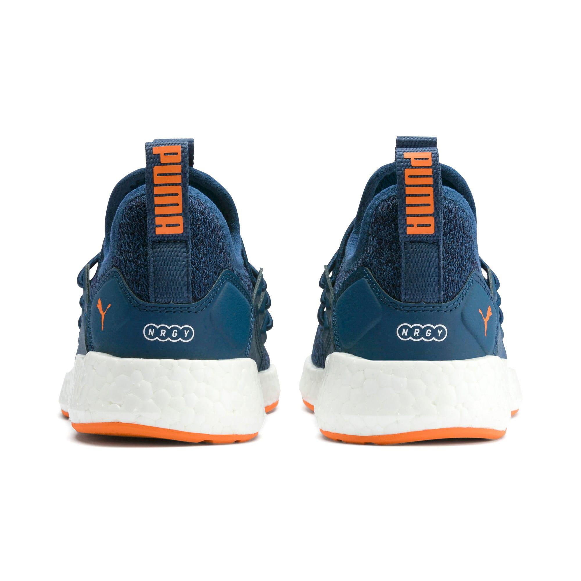 Miniatura 3 de Zapatos de punto NRGY Neko para PS, G Sea-Peacoat-J Orange-White, mediano