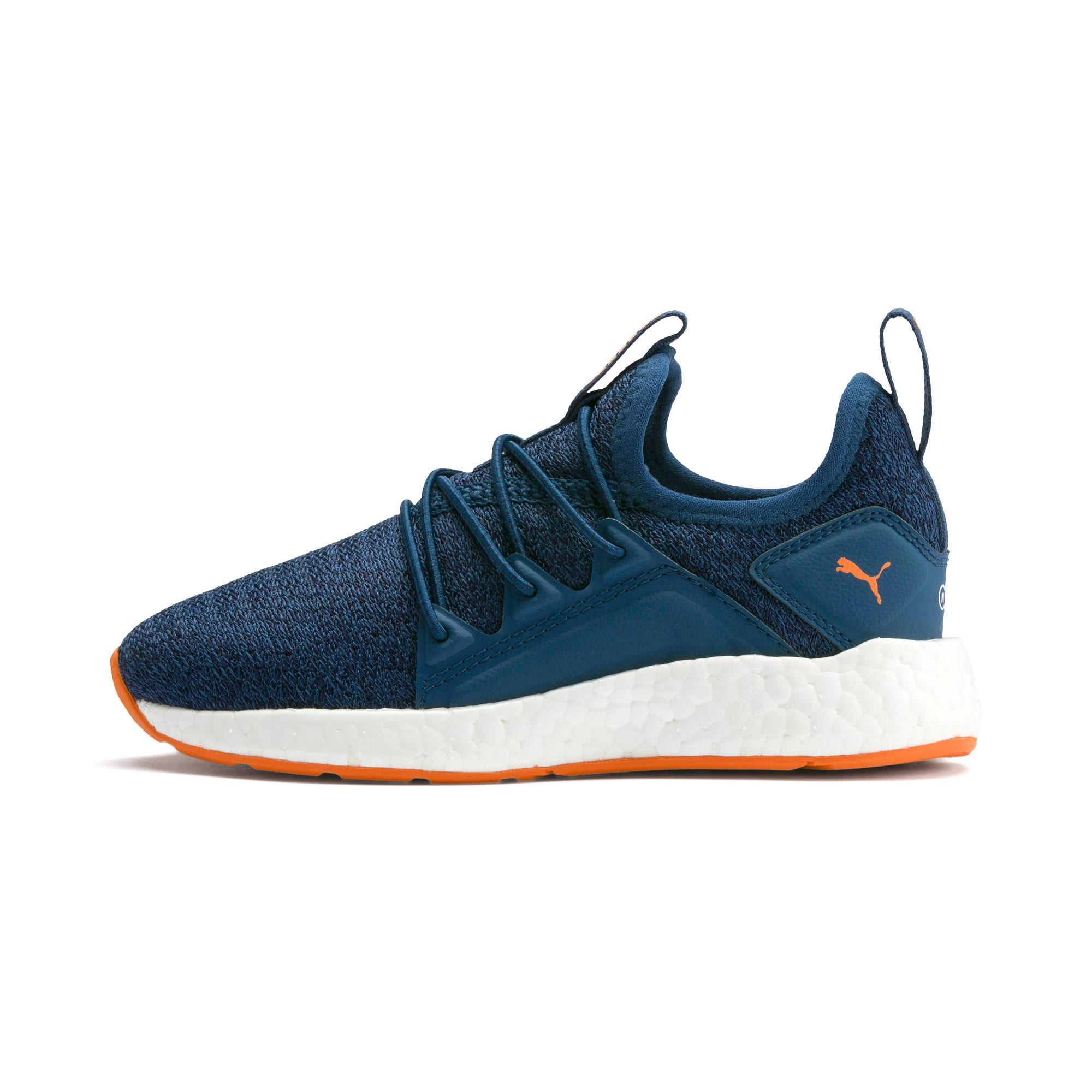 Miniatura 1 de Zapatos de punto NRGY Neko para PS, G Sea-Peacoat-J Orange-White, mediano