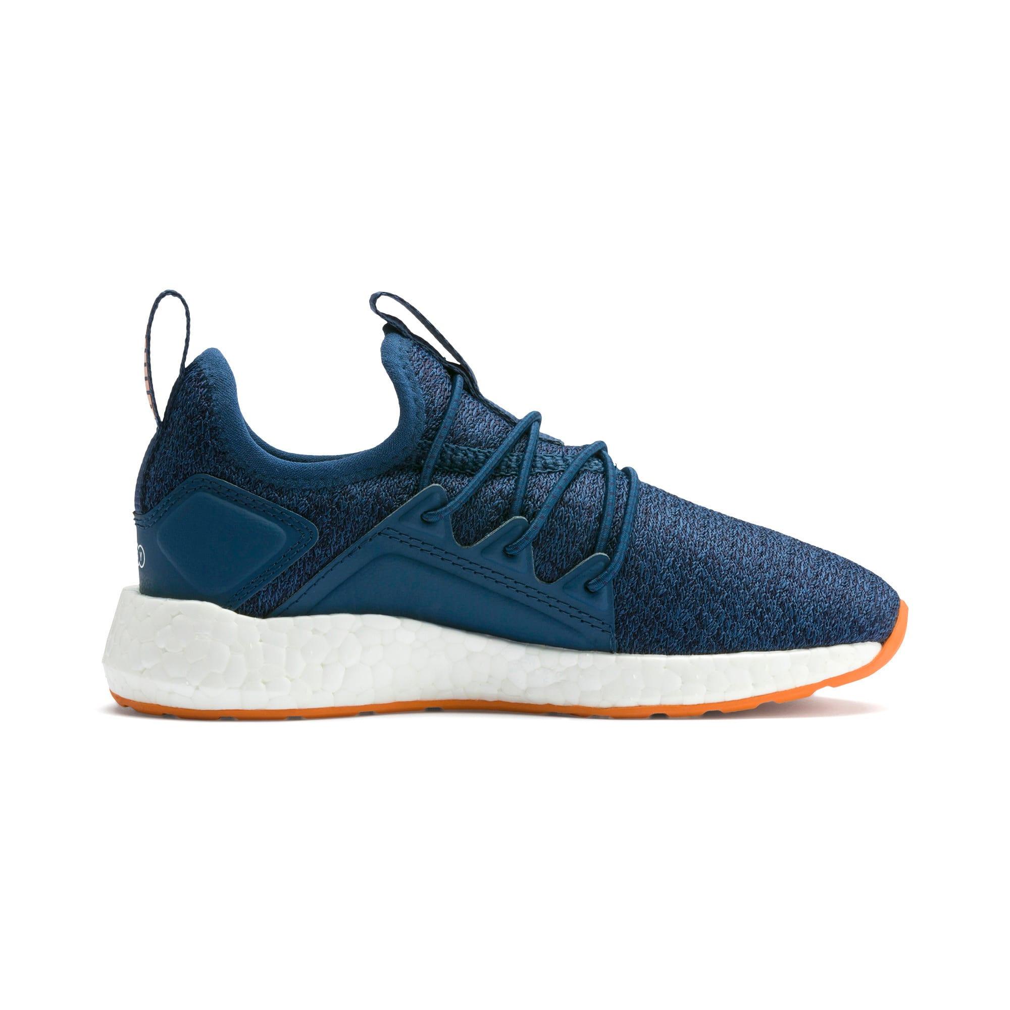 Miniatura 5 de Zapatos de punto NRGY Neko para PS, G Sea-Peacoat-J Orange-White, mediano