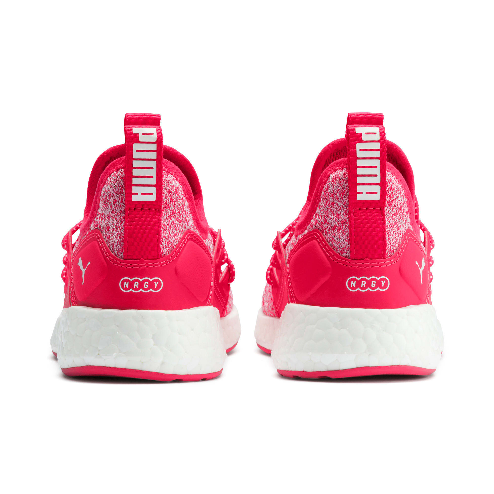 Miniatura 3 de Zapatos de punto NRGY Neko para PS, Nrgy Rose-Puma White, mediano