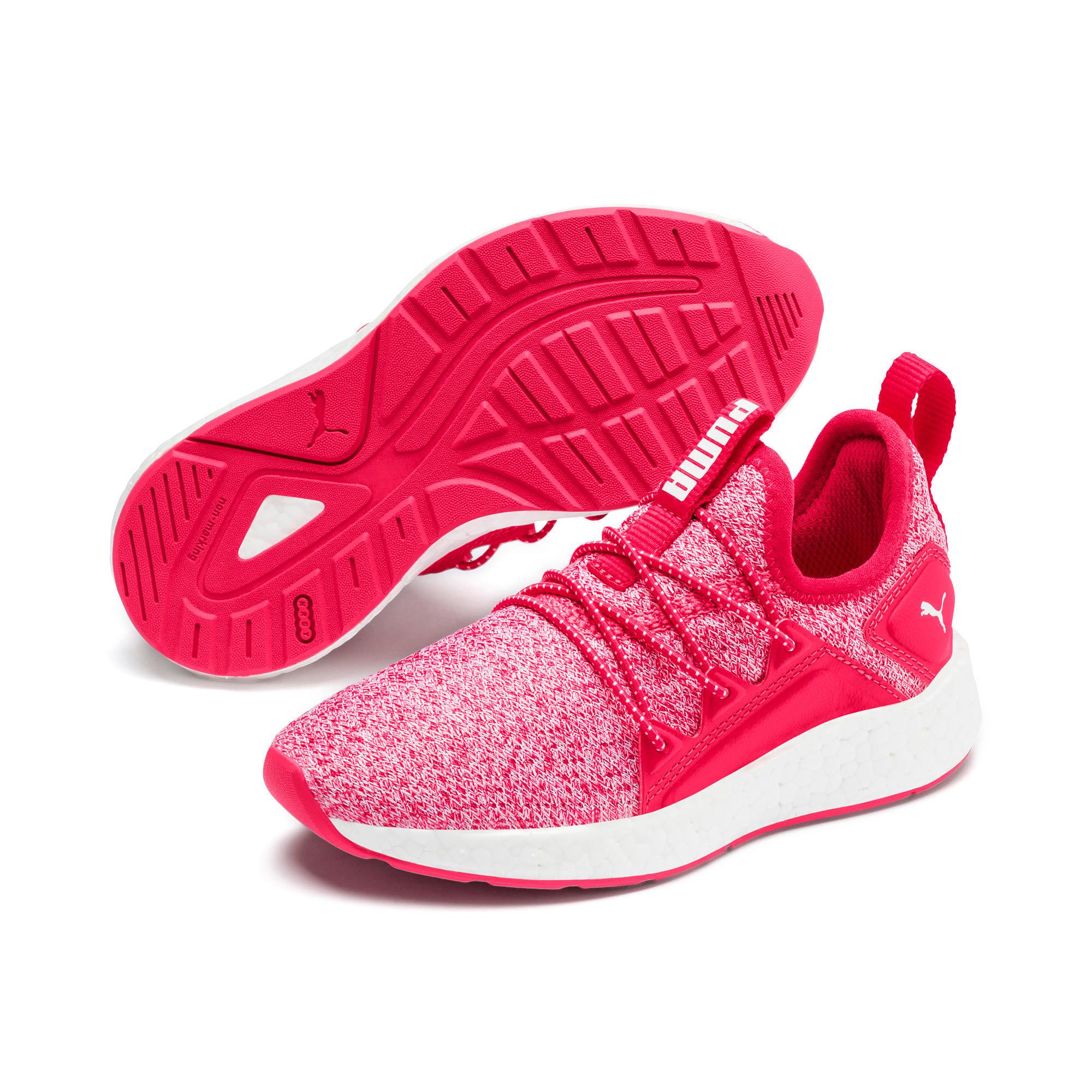 Miniatura 2 de Zapatos de punto NRGY Neko para PS, Nrgy Rose-Puma White, mediano