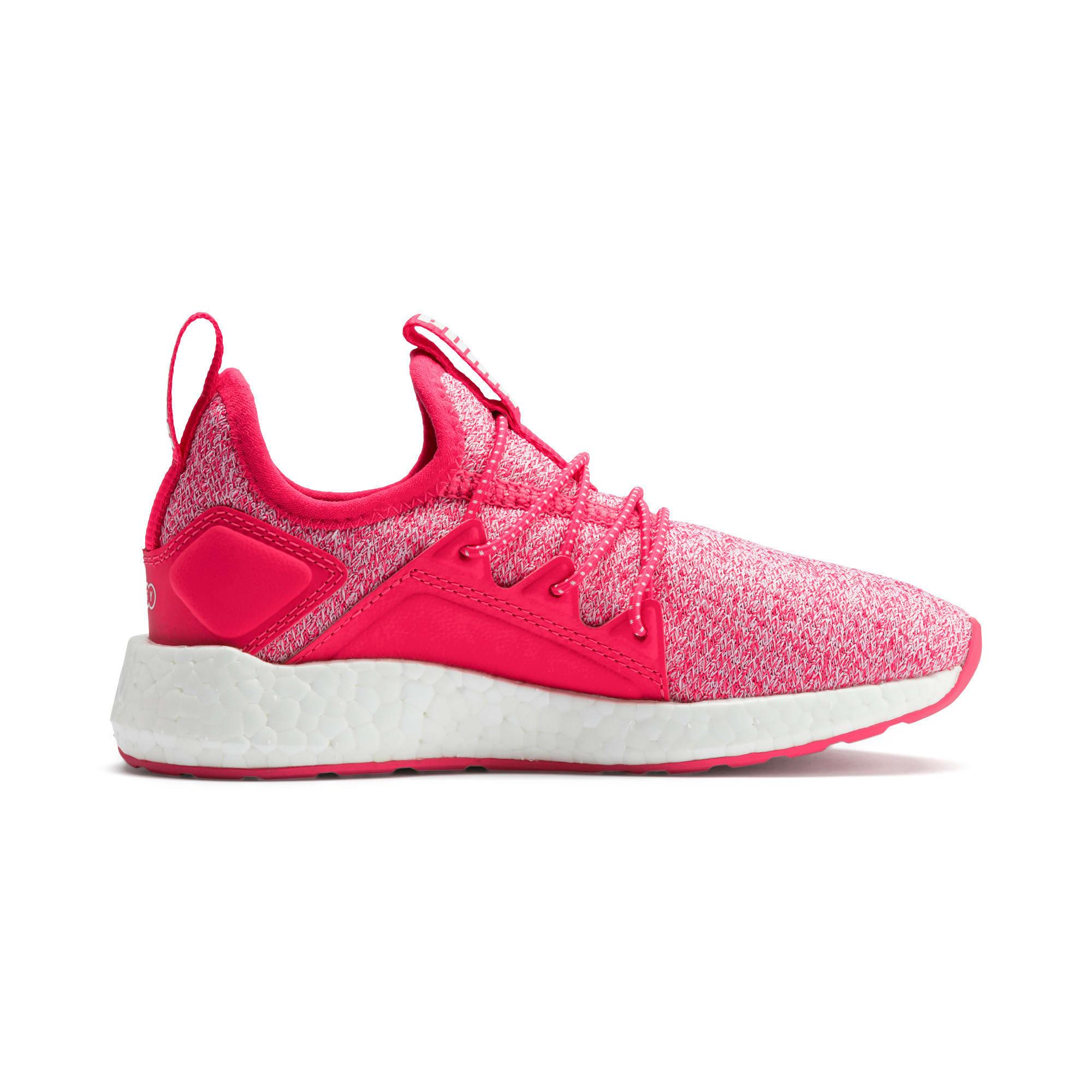 Miniatura 5 de Zapatos de punto NRGY Neko para PS, Nrgy Rose-Puma White, mediano