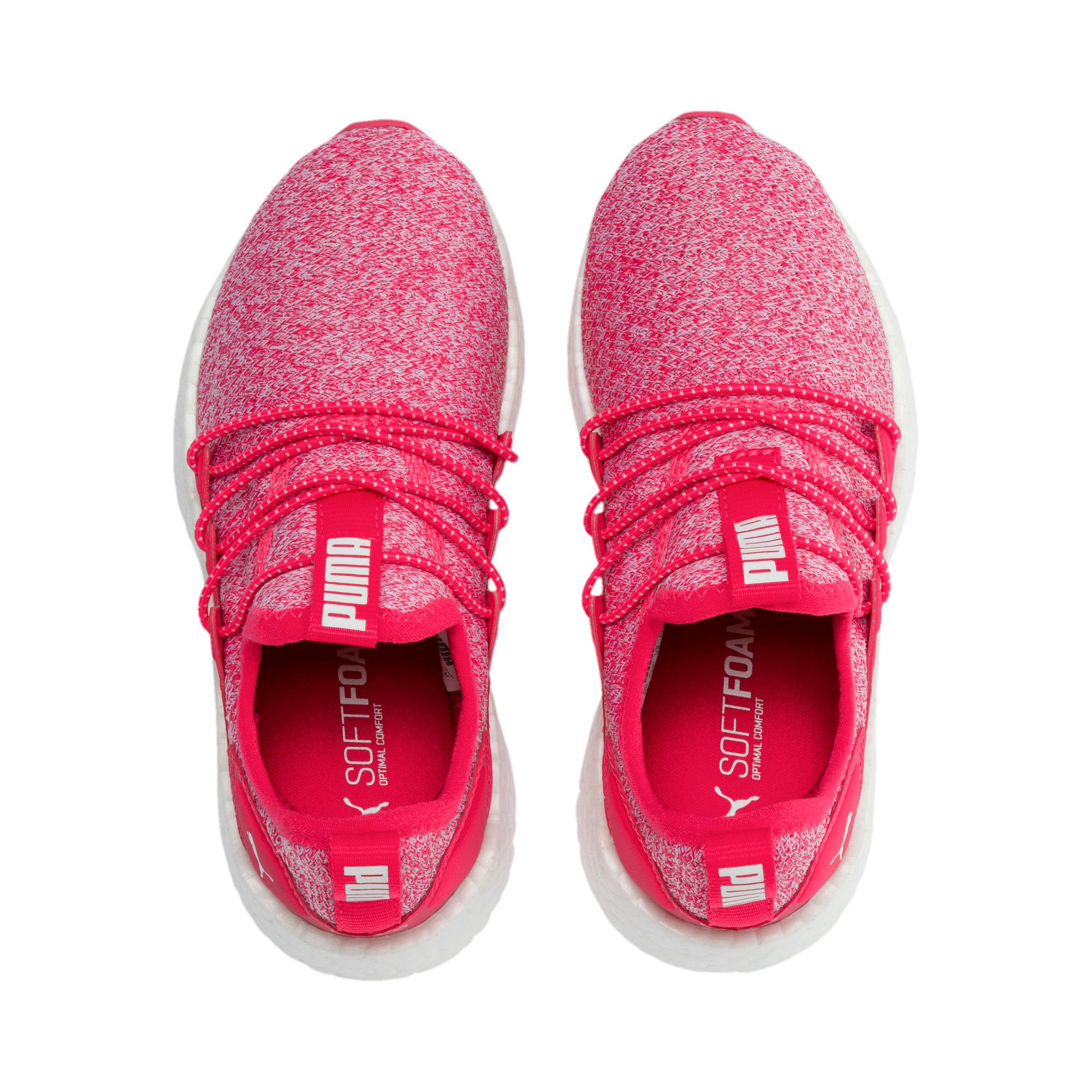 Thumbnail 6 of NRGY Neko Knit Shoes PS, Nrgy Rose-Puma White, medium