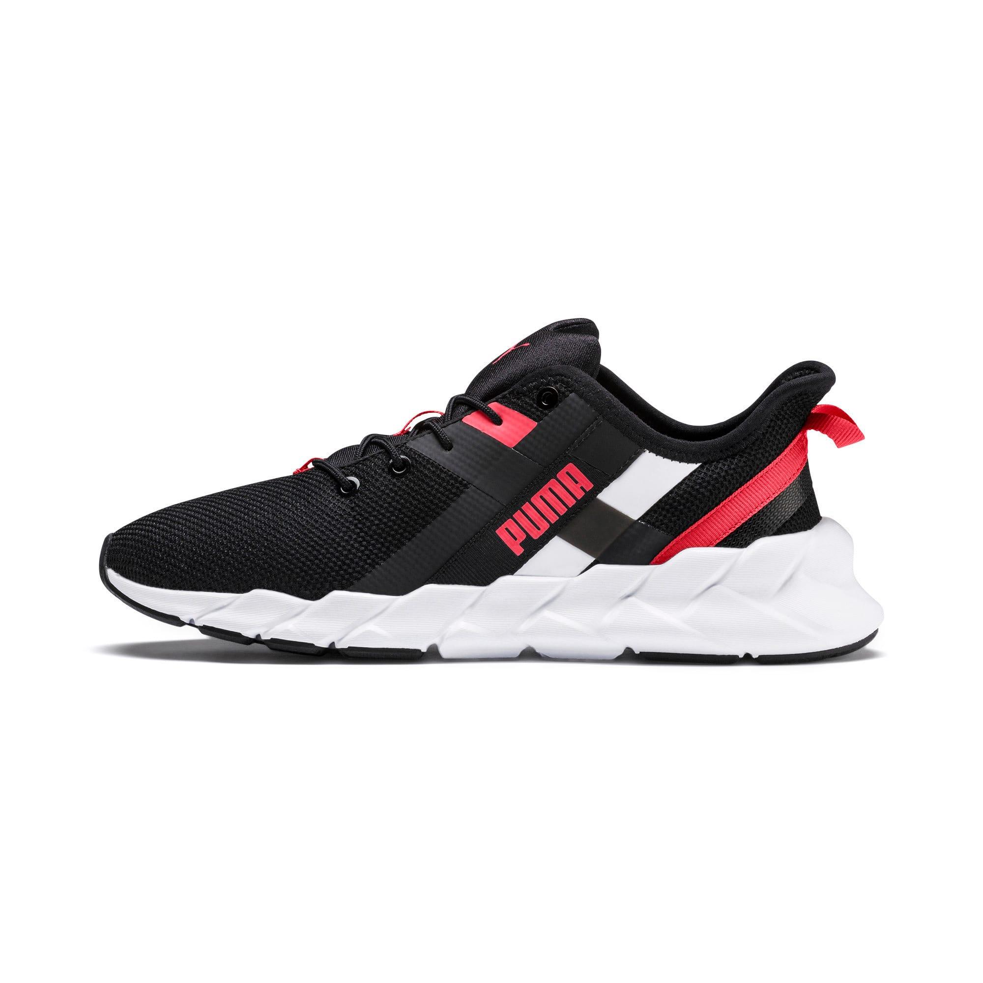Thumbnail 1 of Weave XT Training Shoes JR, Black-White-Calypso Coral, medium