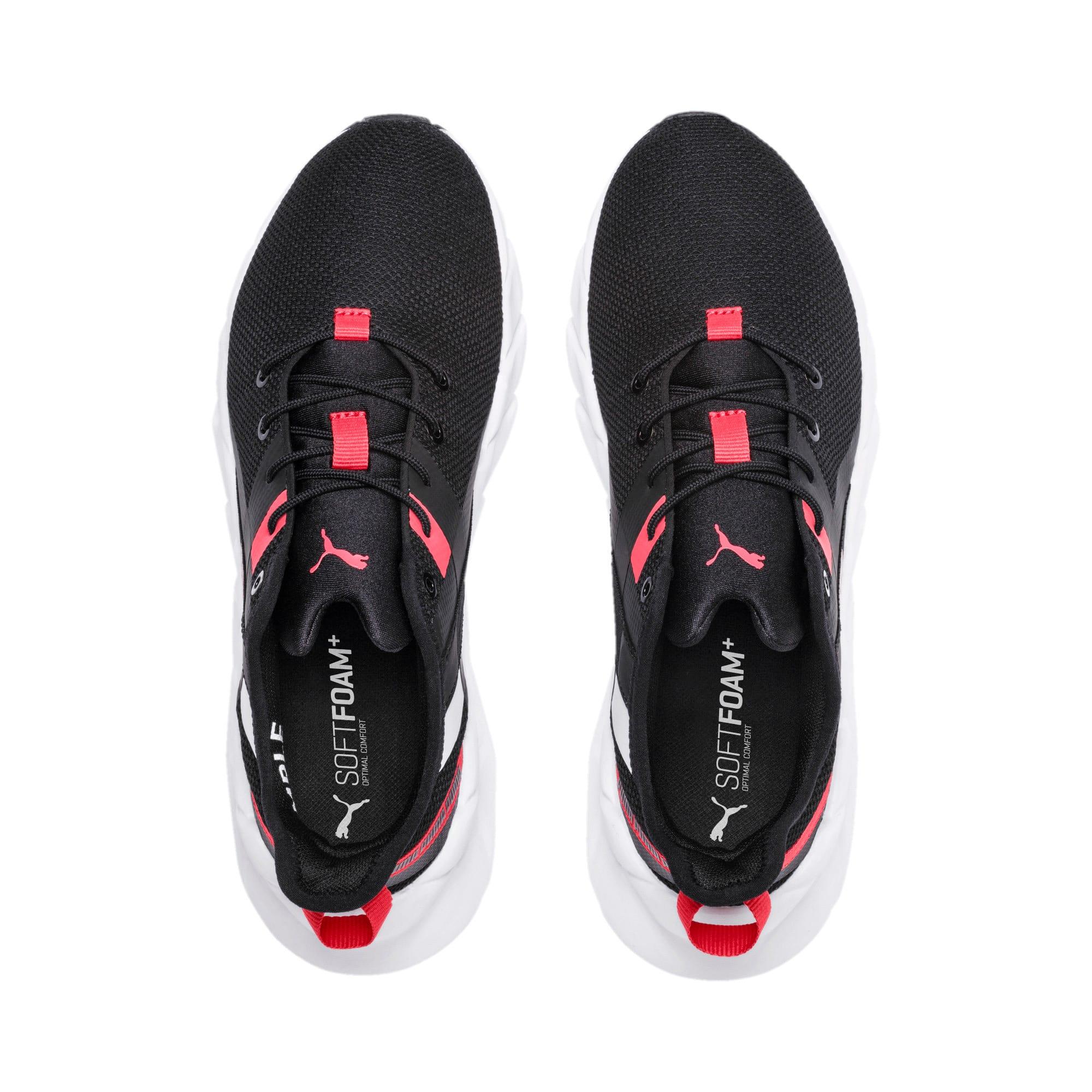 Thumbnail 6 of Weave XT Training Shoes JR, Black-White-Calypso Coral, medium