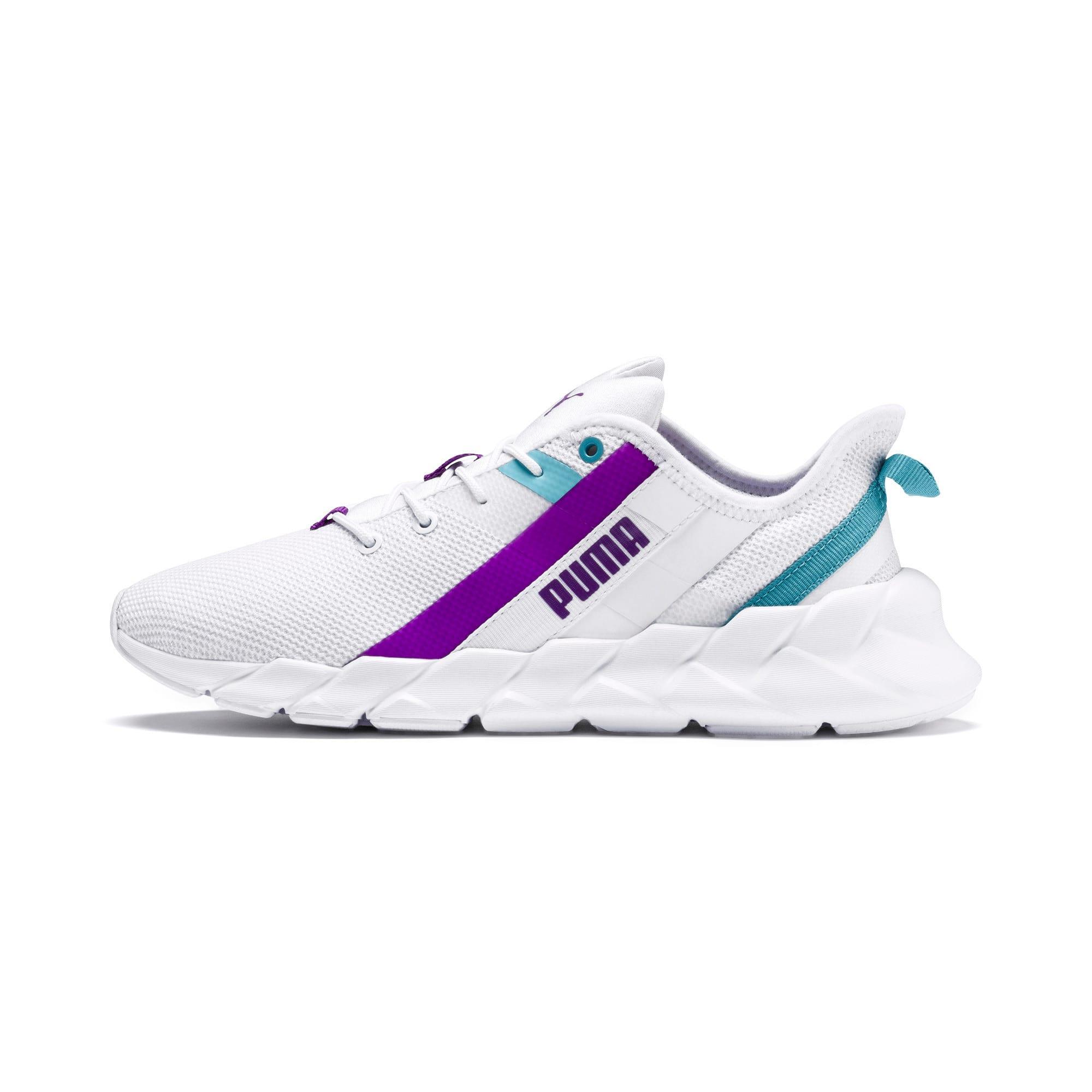 Thumbnail 1 of Weave XT Training Shoes JR, White-Milky Blue-Royal Lilac, medium