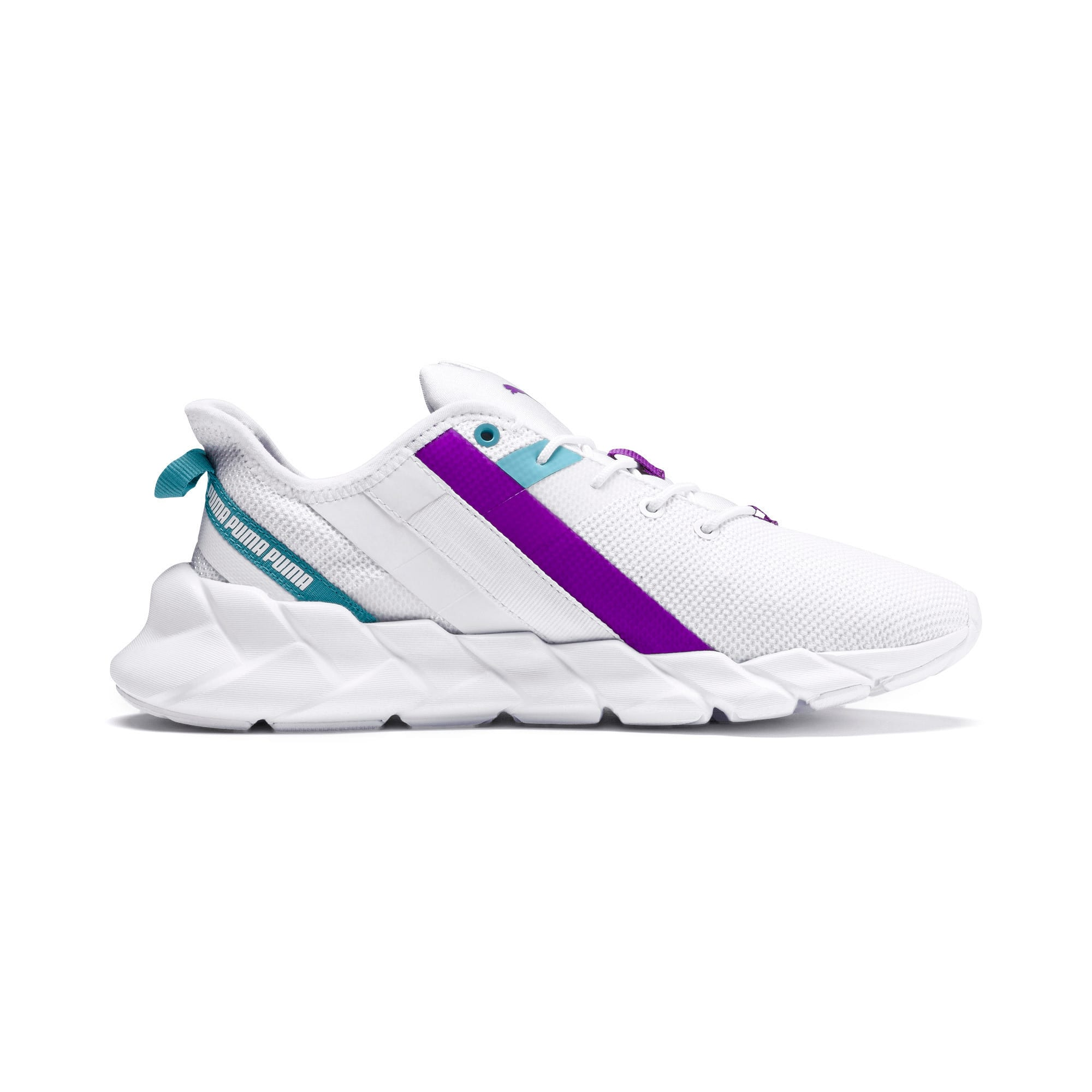 Thumbnail 5 of Weave XT Training Shoes JR, White-Milky Blue-Royal Lilac, medium