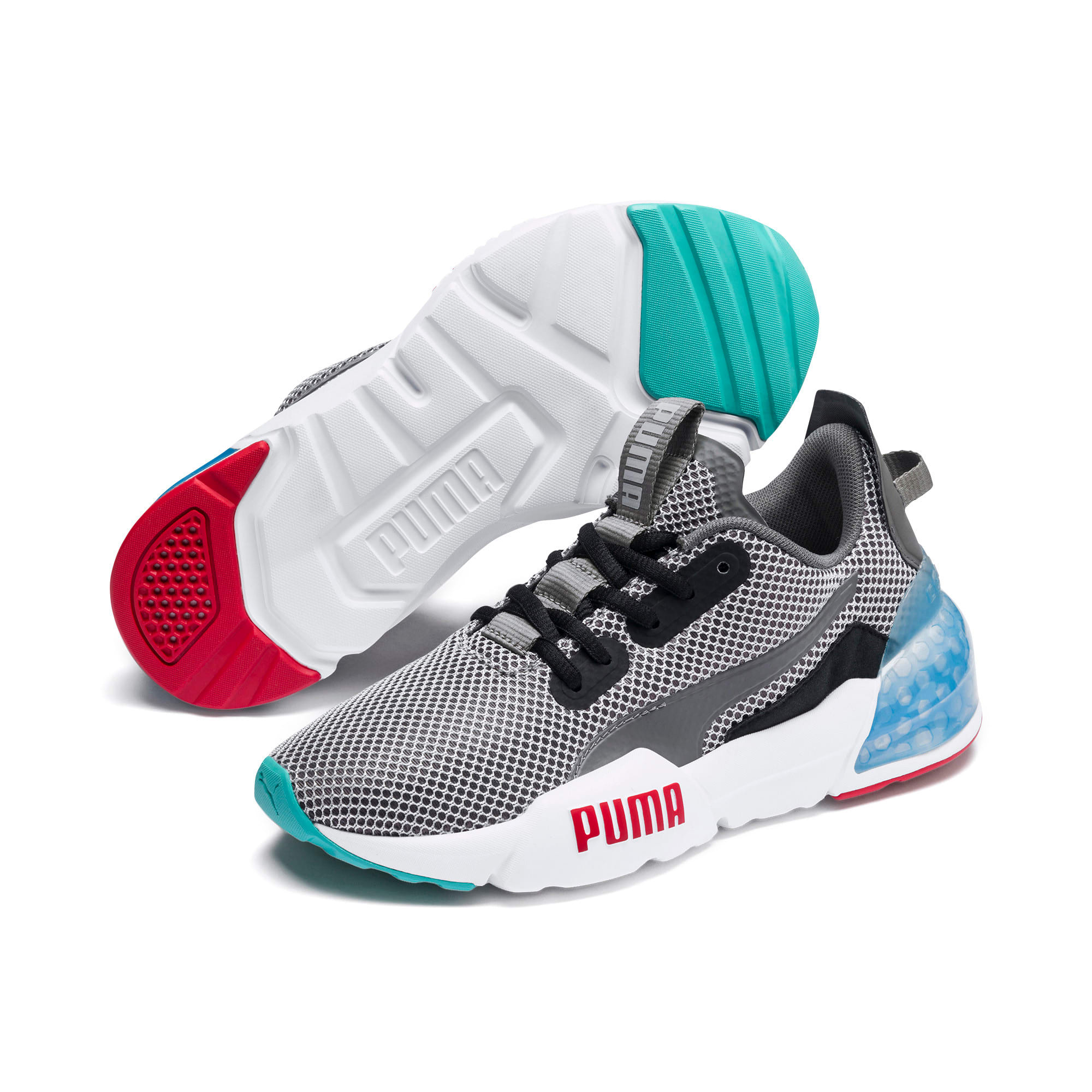 Thumbnail 2 of CELL Phase Sneakers JR, CASTLEROCK-Puma Black, medium