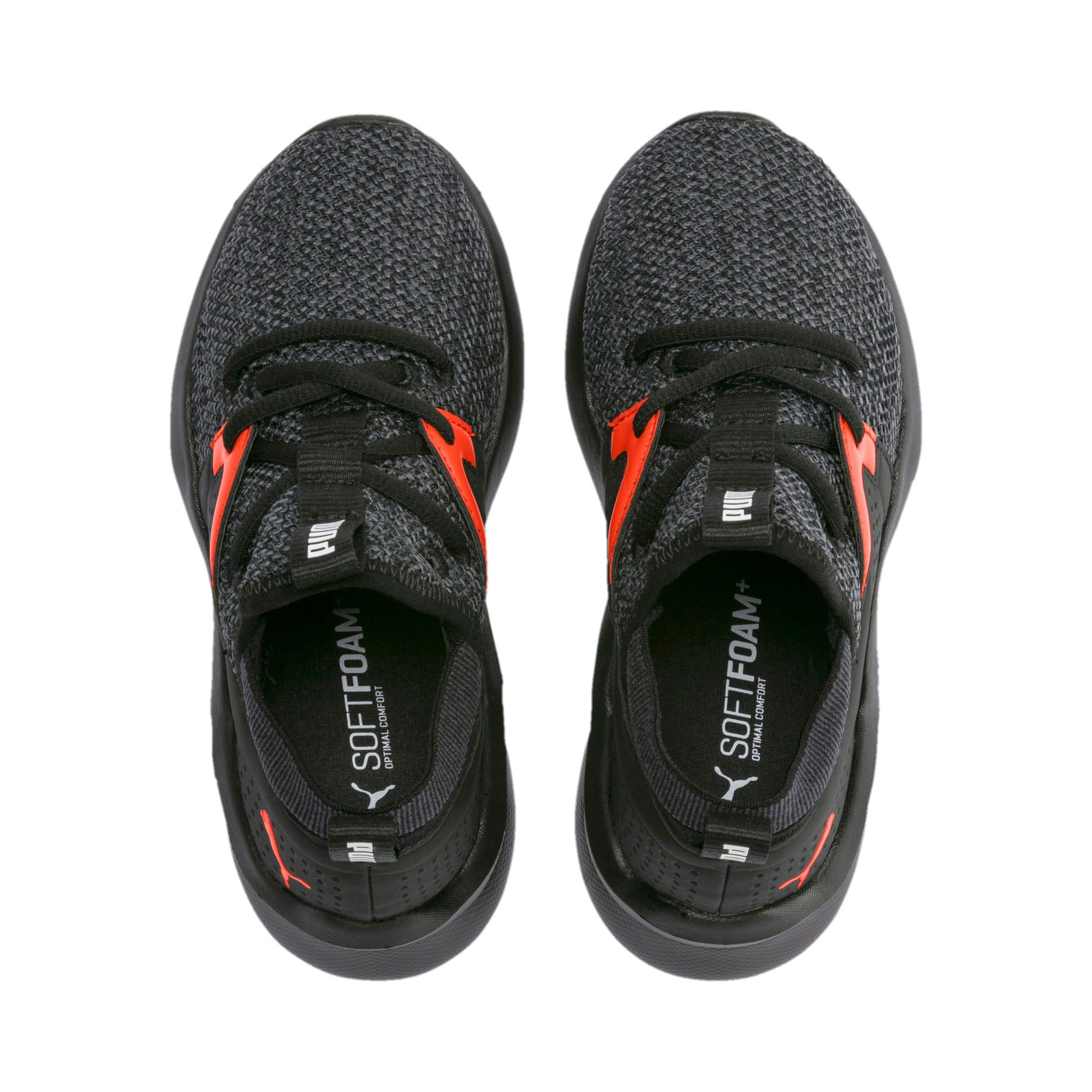 Thumbnail 6 of Emergence Little Kids' Shoes, Puma Black-Cherry Tomato, medium