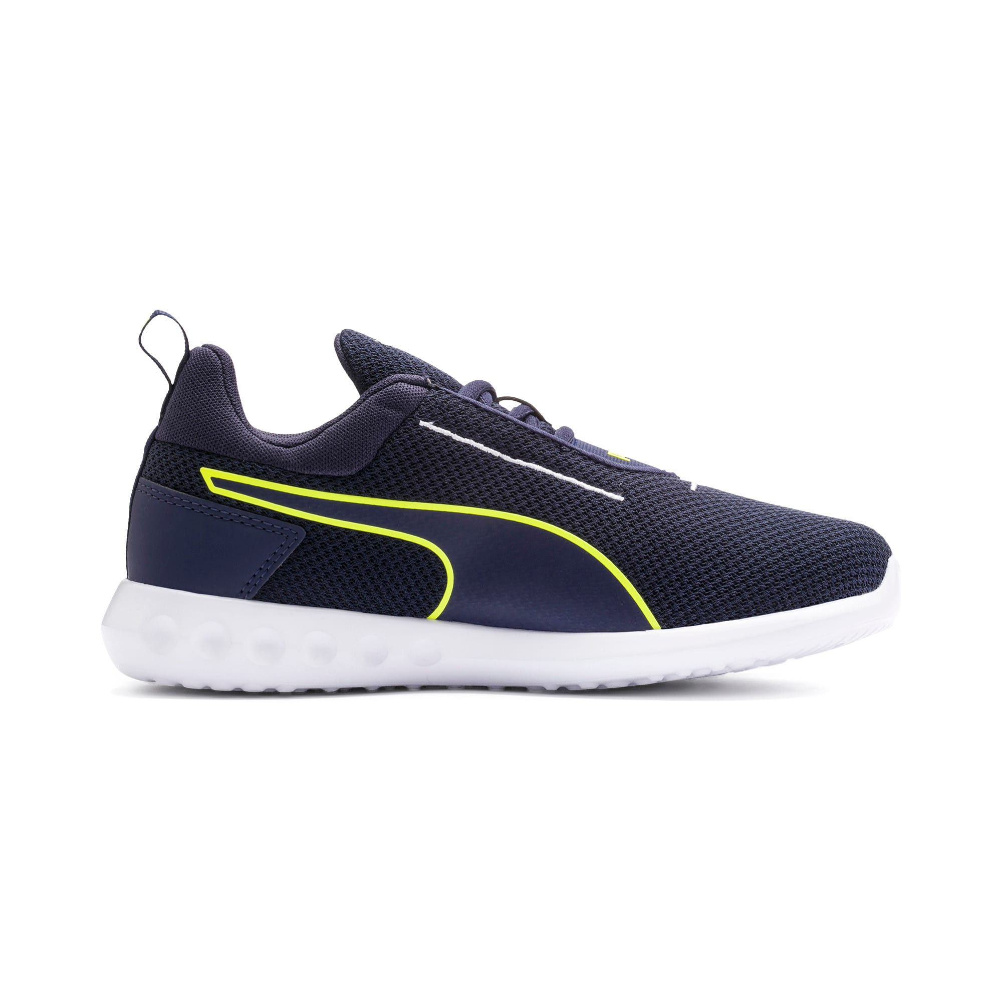 Thumbnail 5 of Carson 2 Concave Youth Trainers, Puma Black-Peacoat, medium