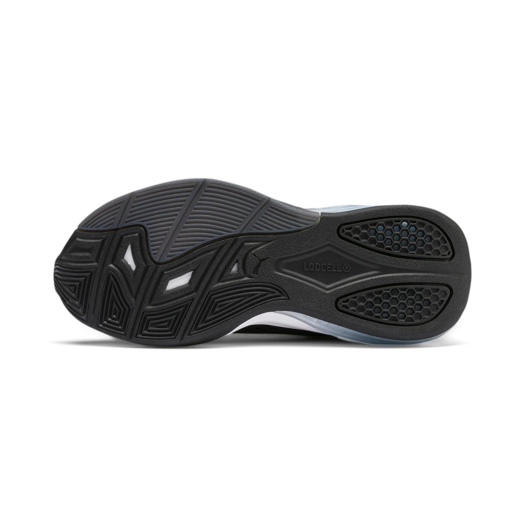 Thumbnail 4 of LQDCELL Tension Training Shoes JR, Puma Black-Puma White, medium