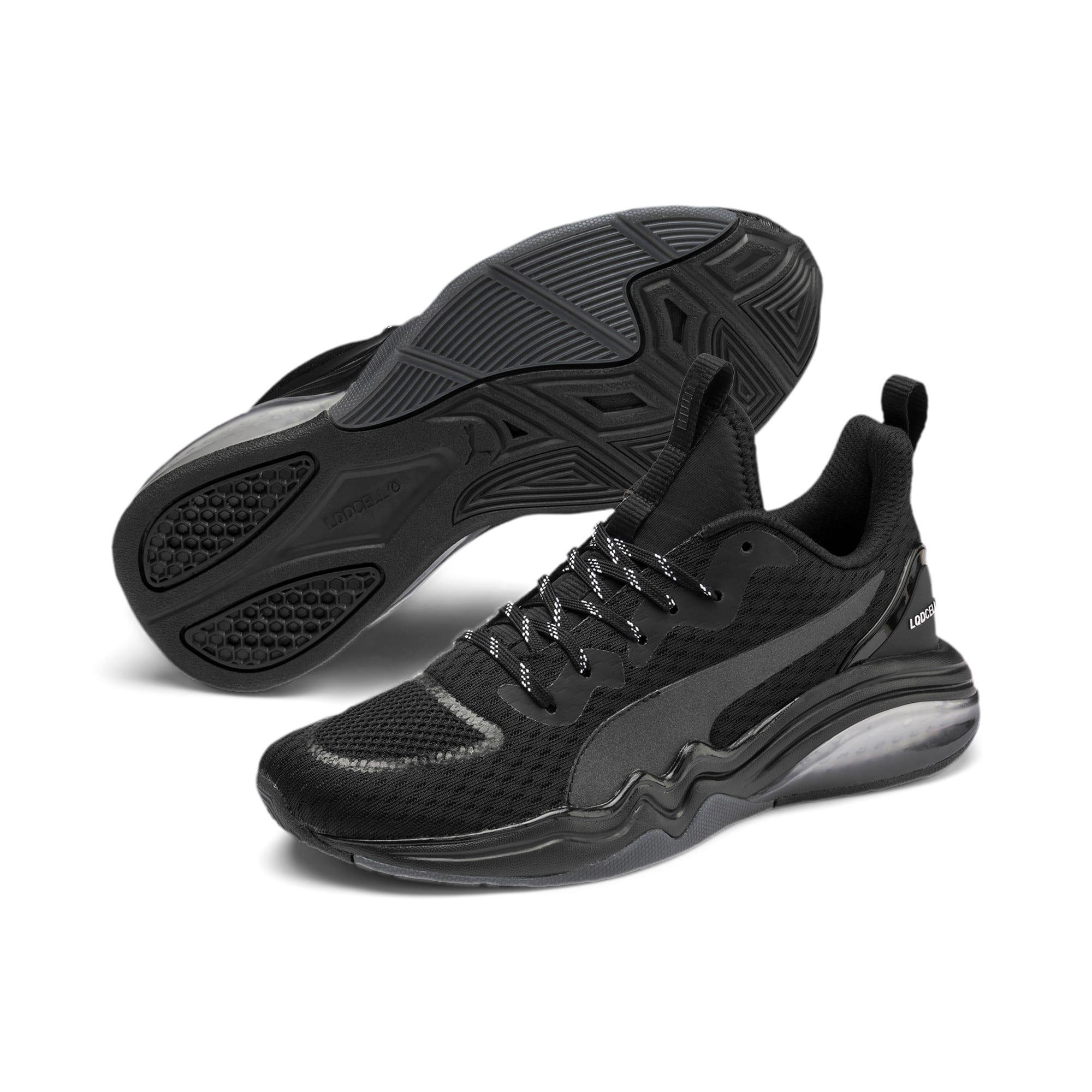 Thumbnail 2 of LQDCELL Tension Training Shoes JR, Puma Silver-Puma Black, medium