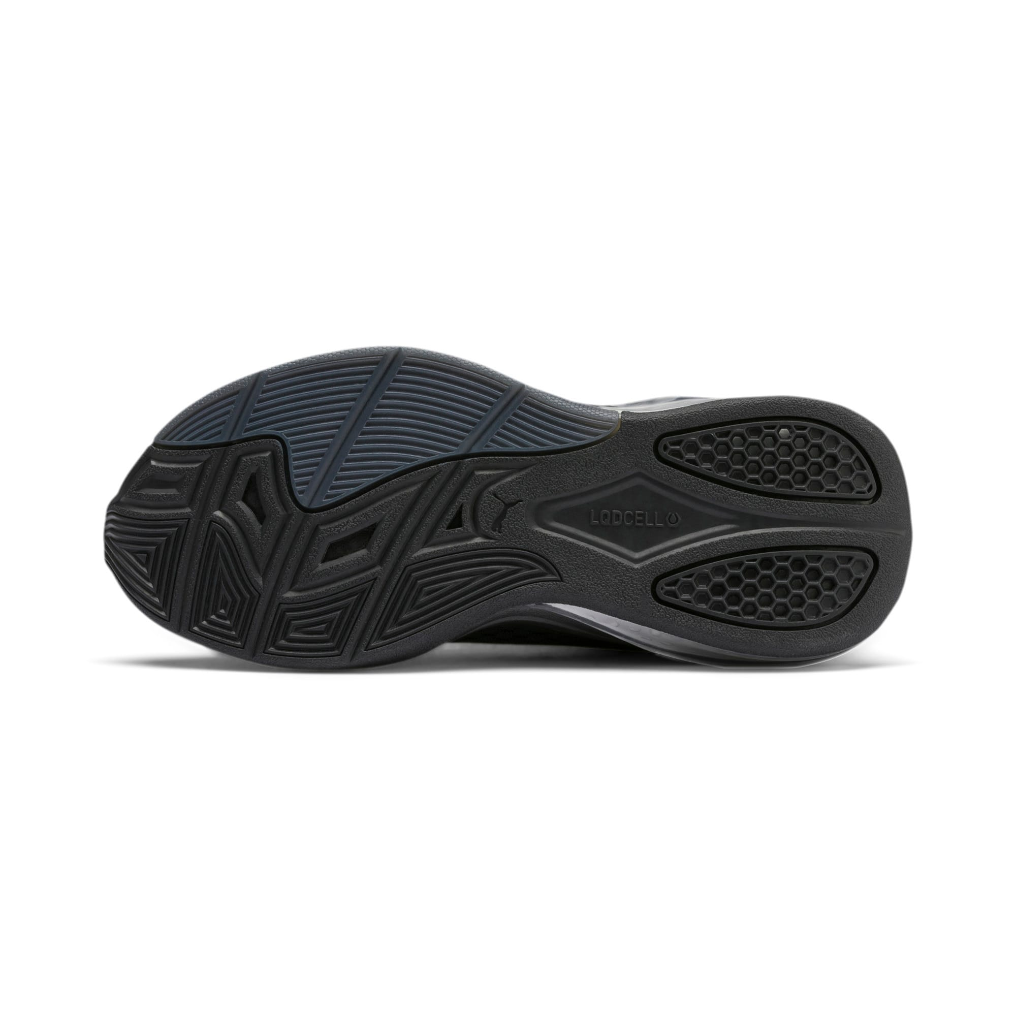 Thumbnail 4 of LQDCELL Tension Training Shoes JR, Puma Silver-Puma Black, medium