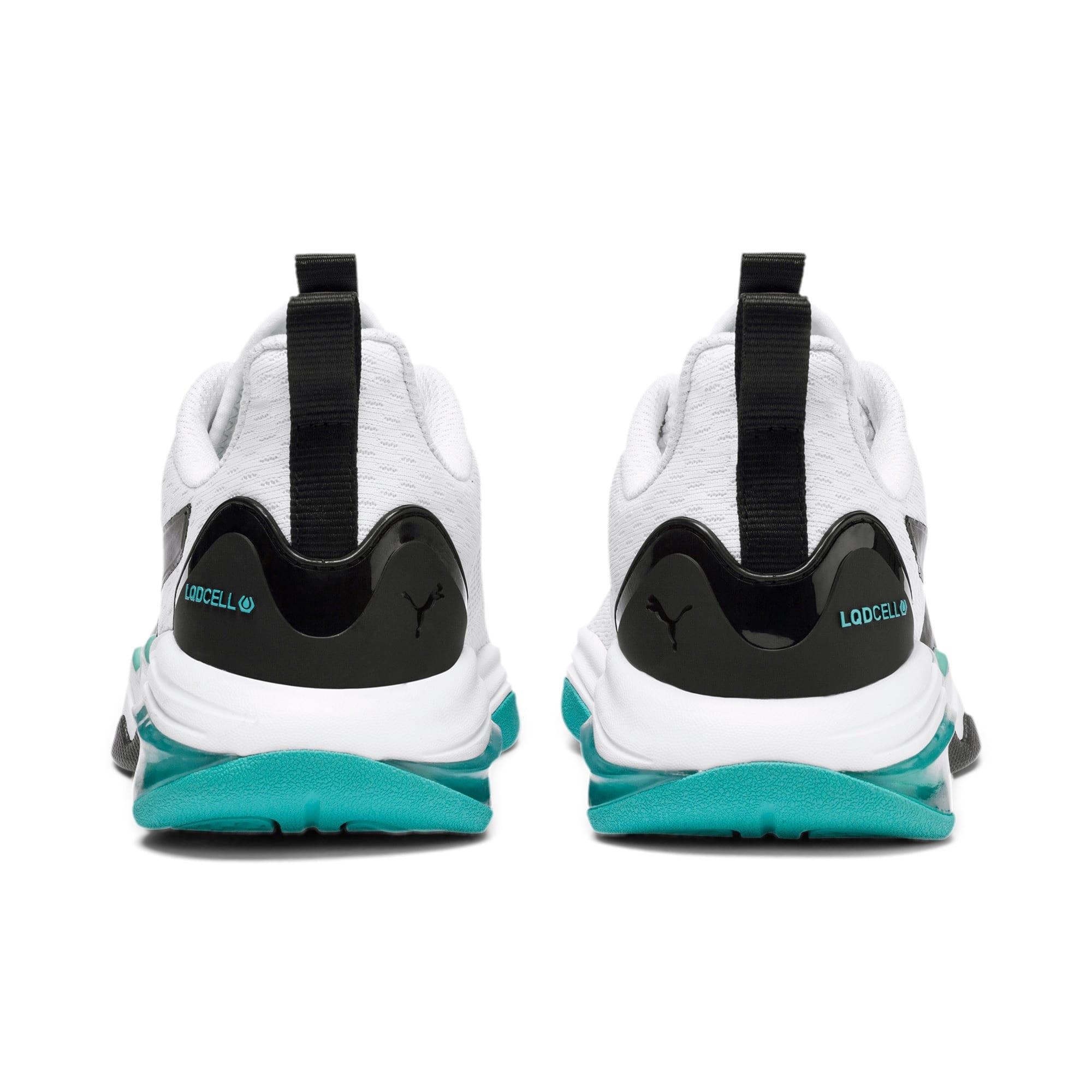 Thumbnail 4 of LQDCELL Tension Training Shoes JR, Puma White-Puma Black, medium