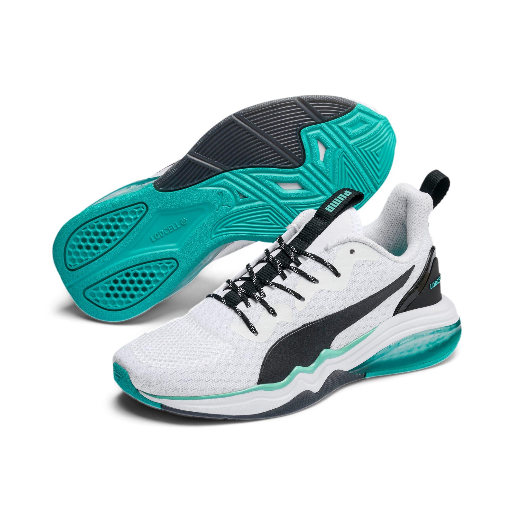 Thumbnail 2 of LQDCELL Tension Training Shoes JR, Puma White-Puma Black, medium