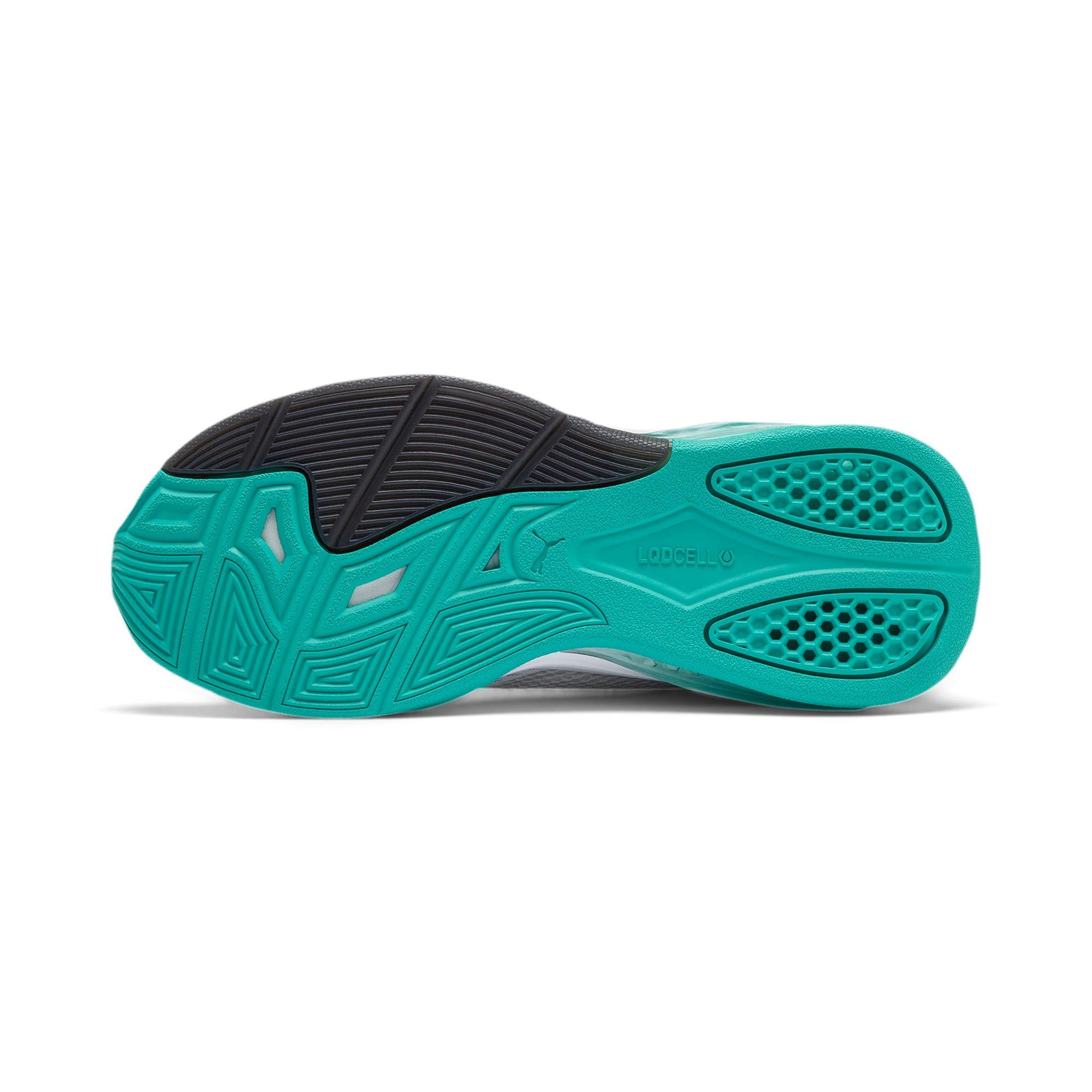 Thumbnail 3 of LQDCELL Tension Training Shoes JR, Puma White-Puma Black, medium