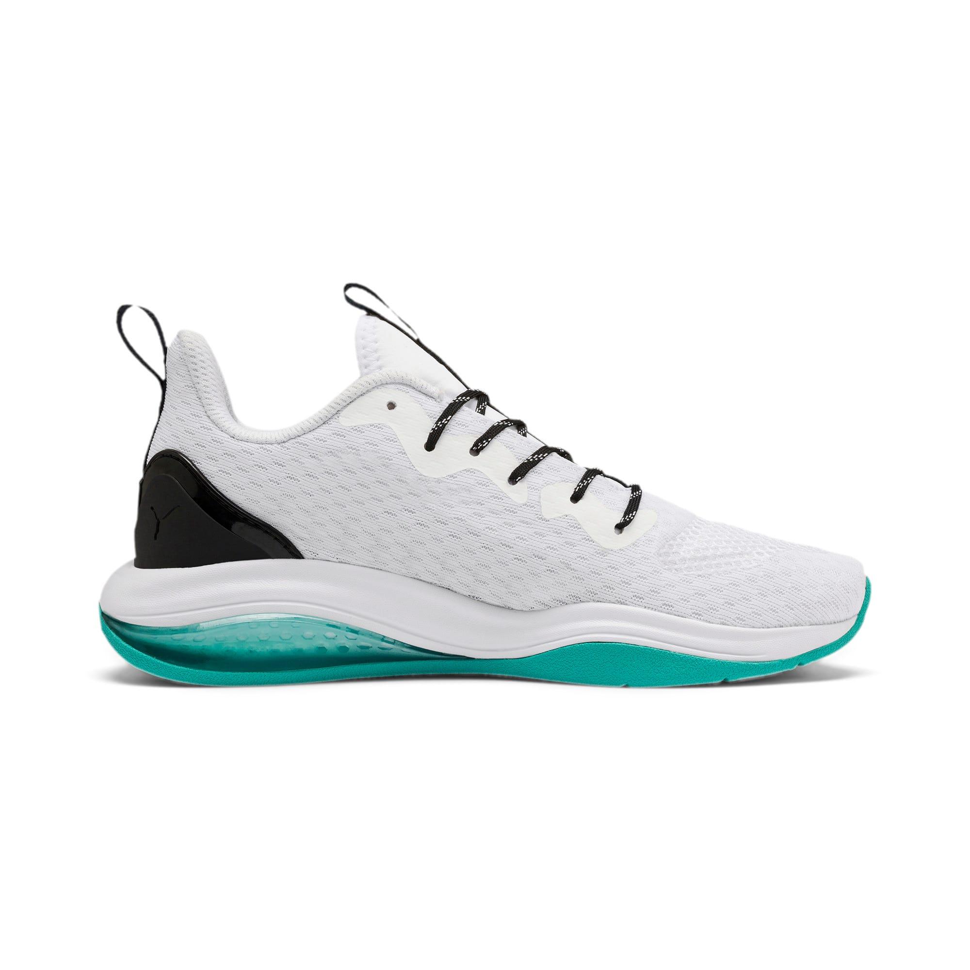 Thumbnail 5 of LQDCELL Tension Training Shoes JR, Puma White-Puma Black, medium