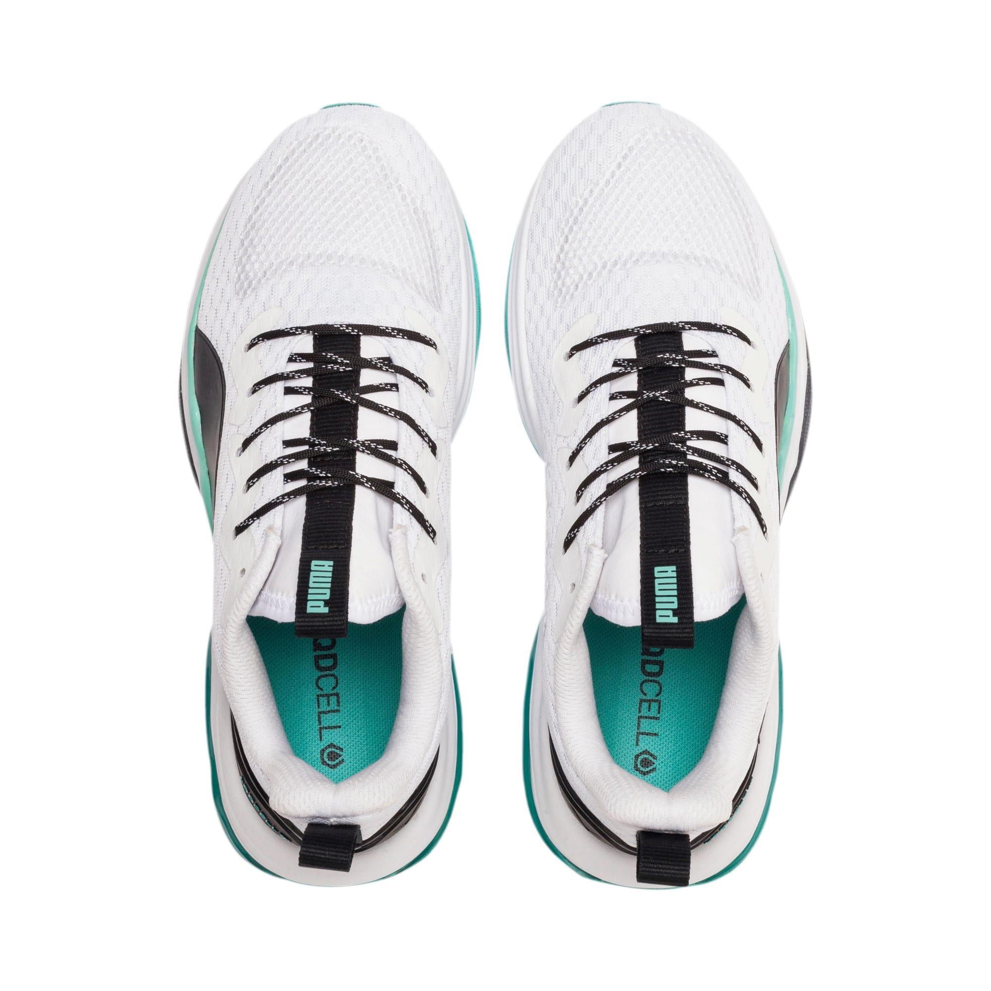 Thumbnail 6 of LQDCELL Tension Training Shoes JR, Puma White-Puma Black, medium