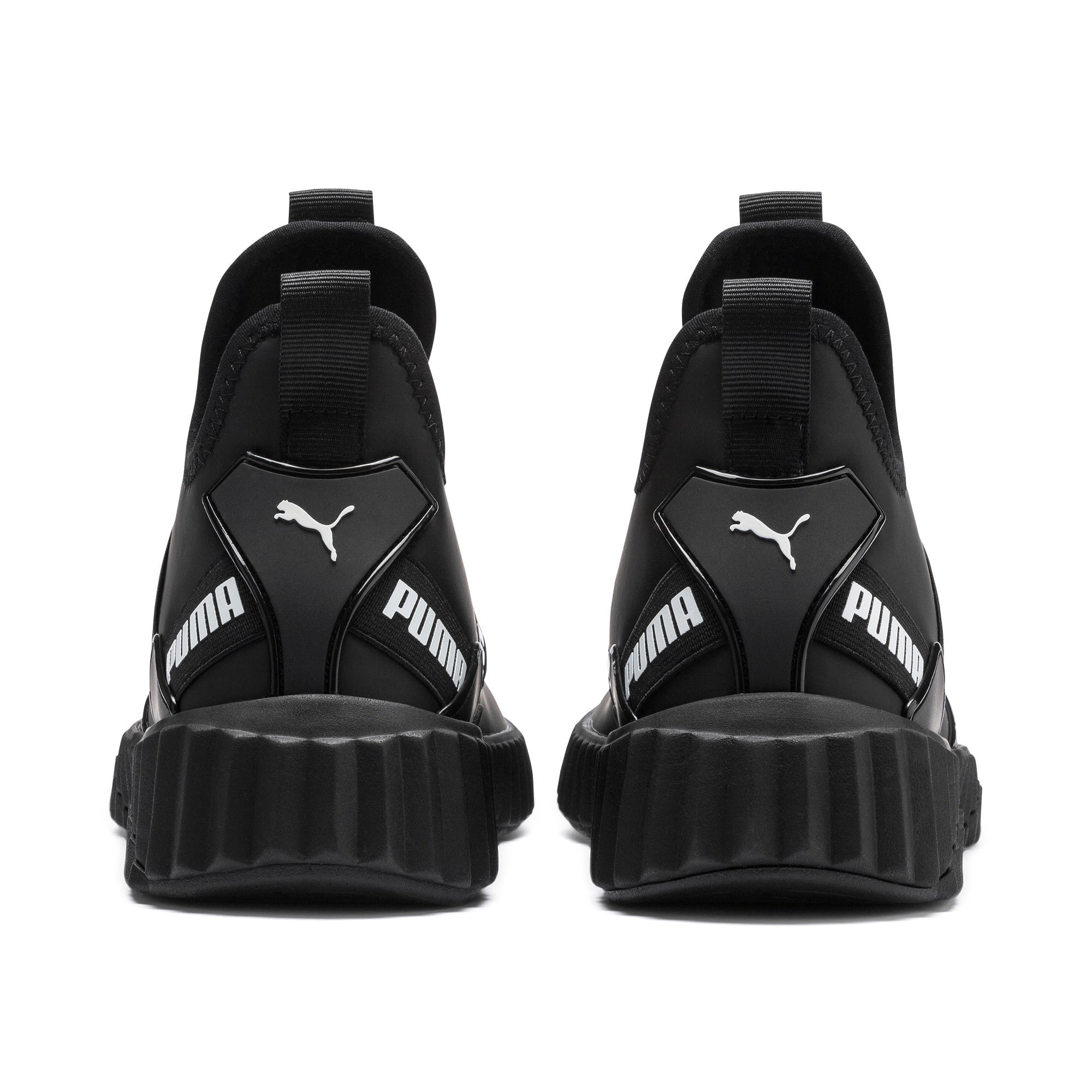 Thumbnail 4 of Defy Mid Matte Damen Sneaker, Puma Black-Puma White, medium