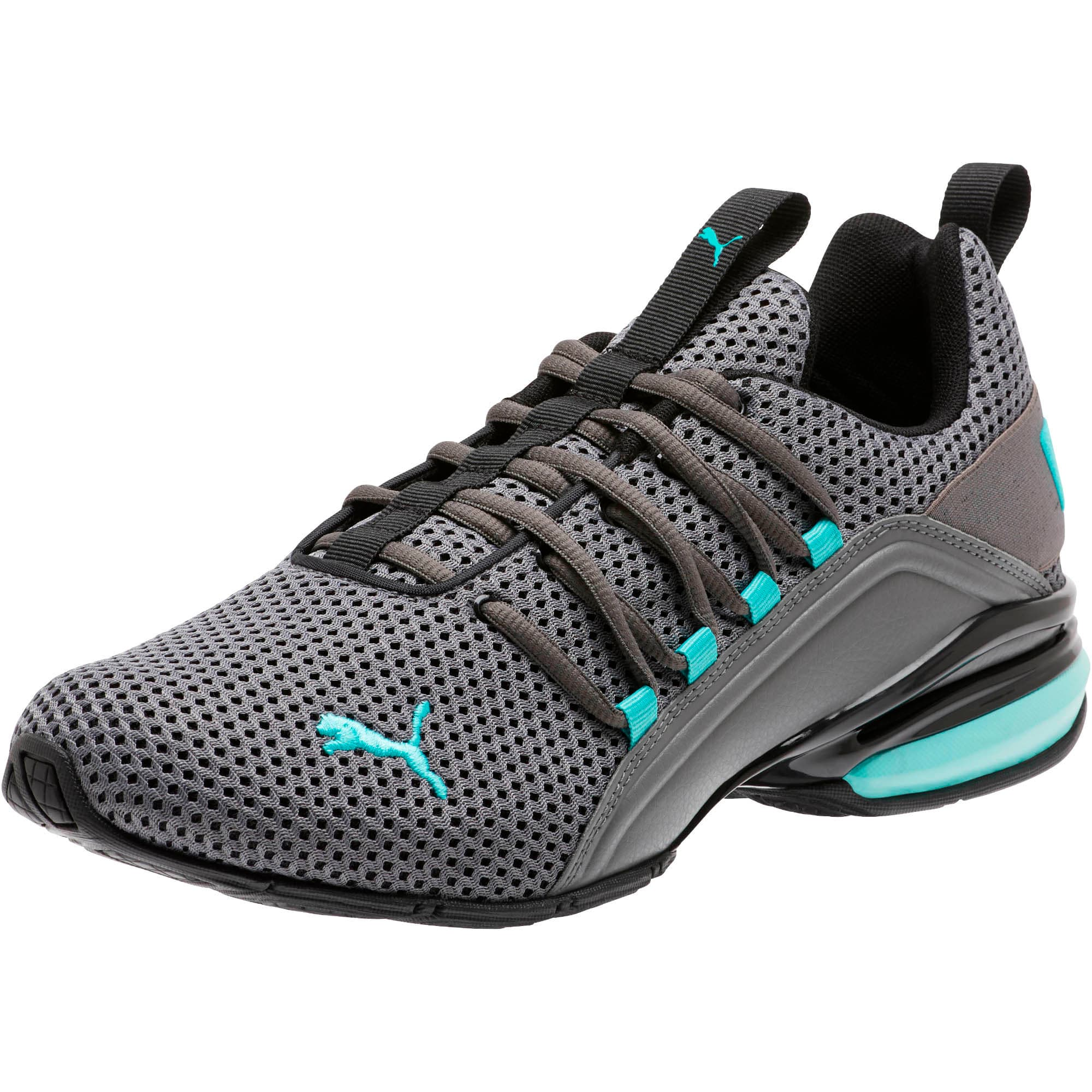 Thumbnail 1 of Axelion Breathe Men's Training Shoes, P Black-CASTLEROCK-Blue Turq, medium