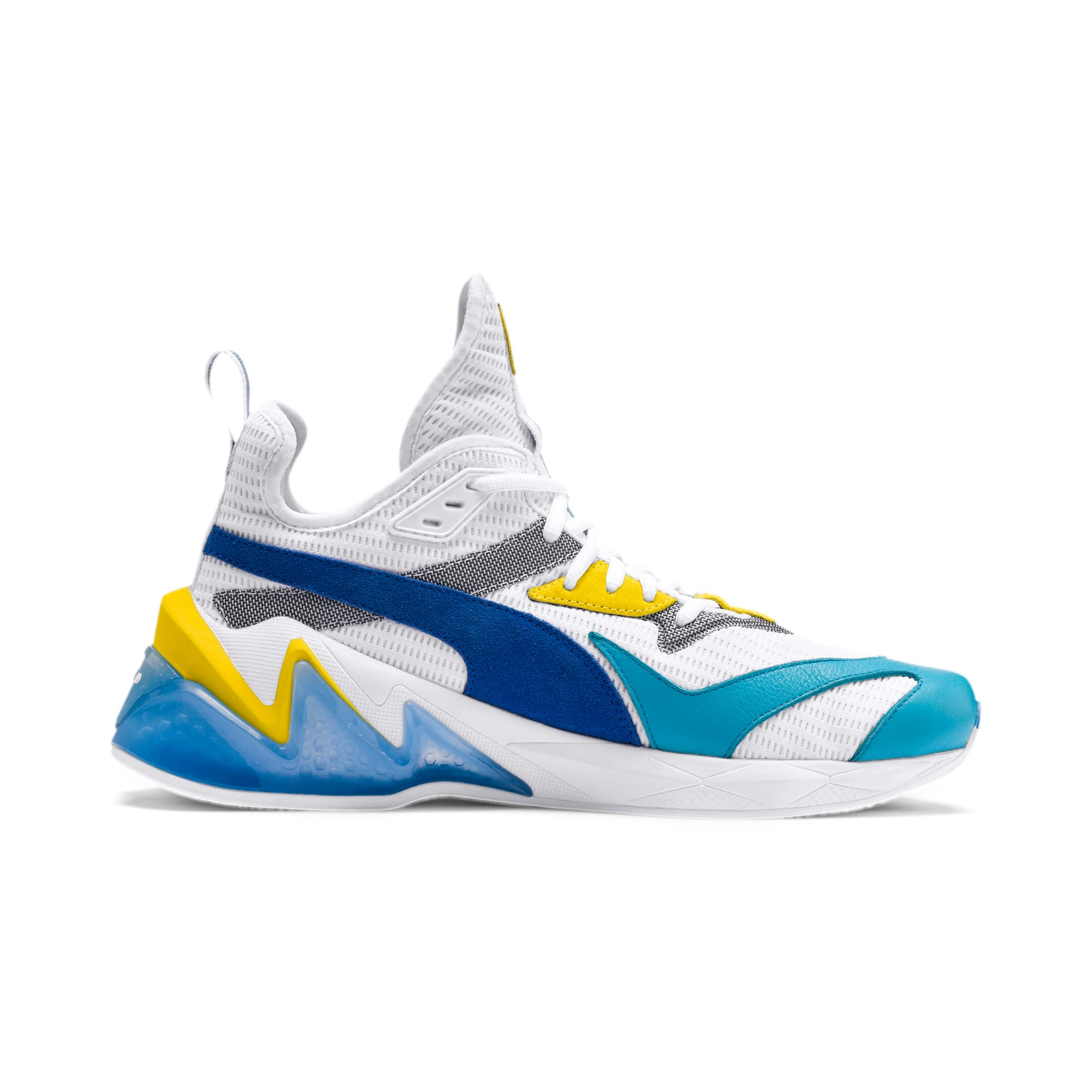 Thumbnail 5 of LQDCELL Origin Men's Shoes, Puma White-B Blue-Blz Yellow, medium