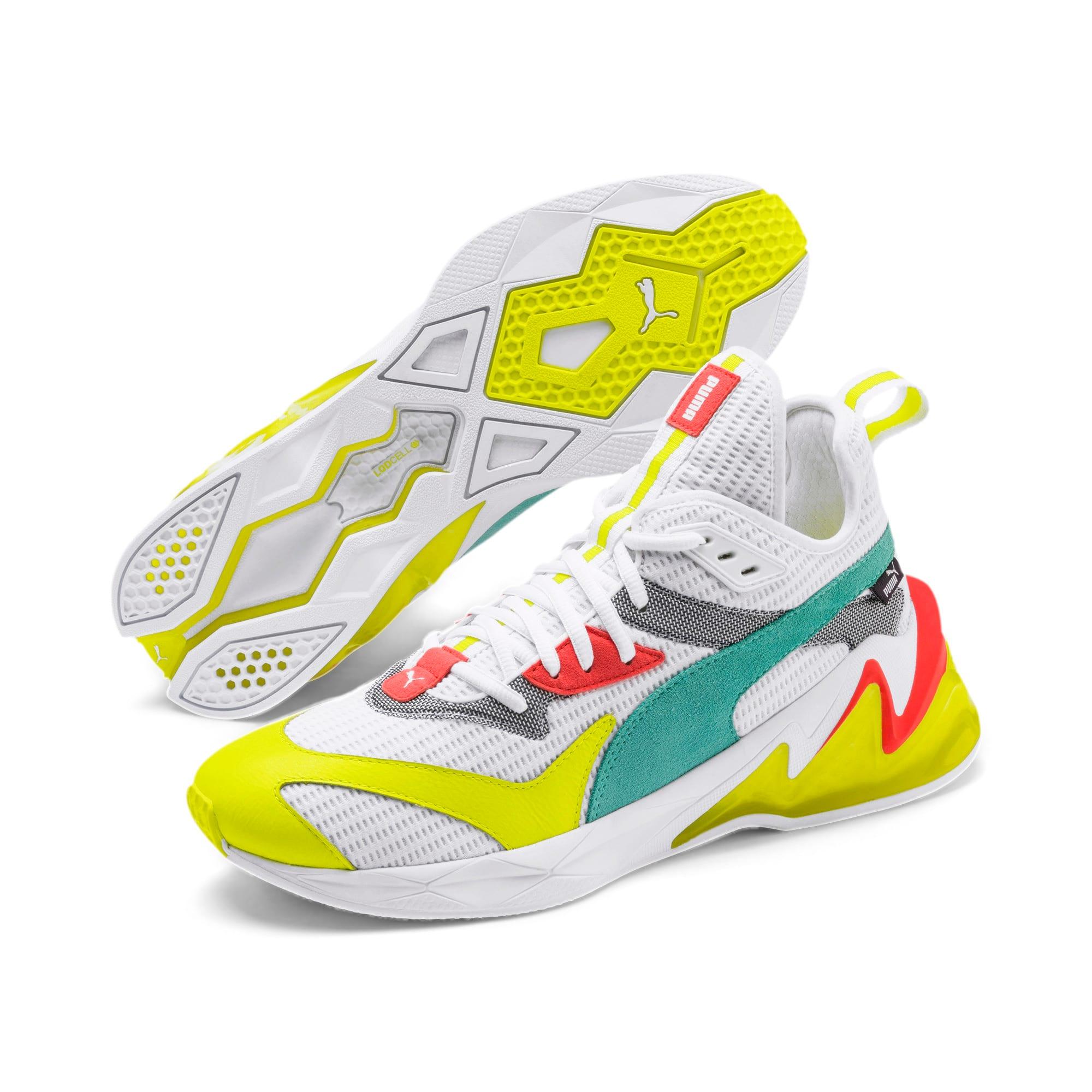 Miniatura 3 de Zapatos de entrenamientoLQDCELL Origin para hombre, Puma White-Yellow Alert, mediano