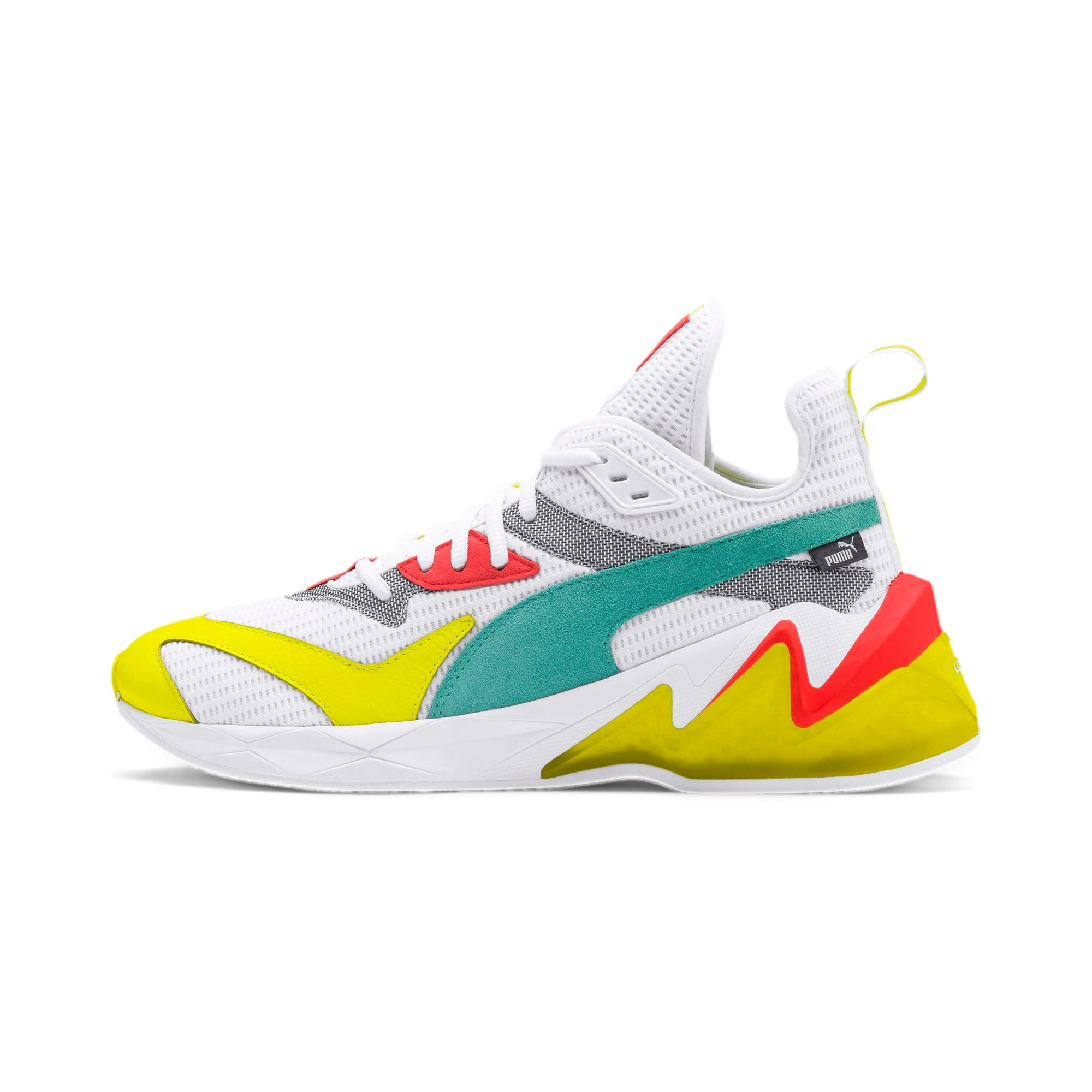 Miniatura 1 de Zapatos de entrenamientoLQDCELL Origin para hombre, Puma White-Yellow Alert, mediano