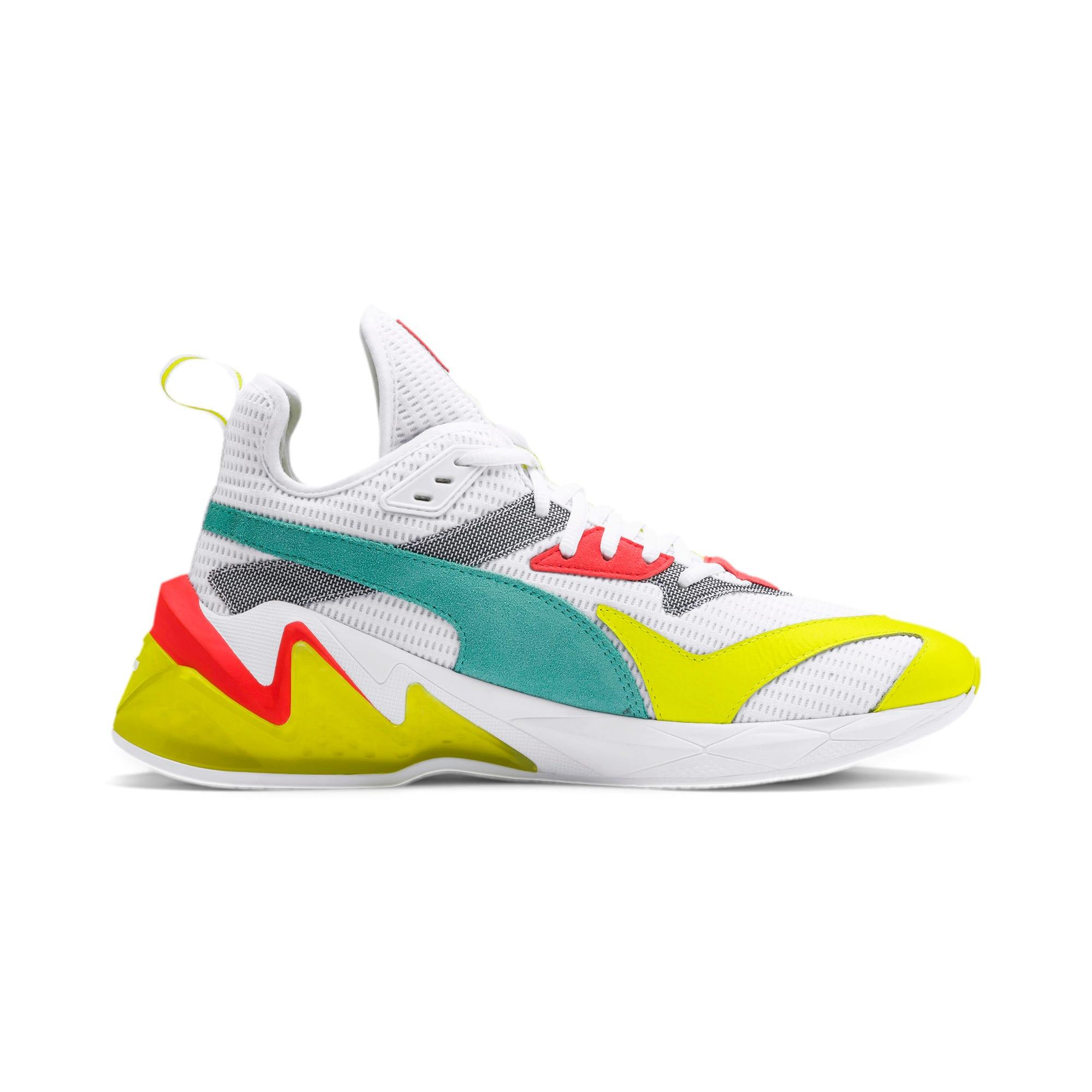 Miniatura 6 de Zapatos de entrenamientoLQDCELL Origin para hombre, Puma White-Yellow Alert, mediano