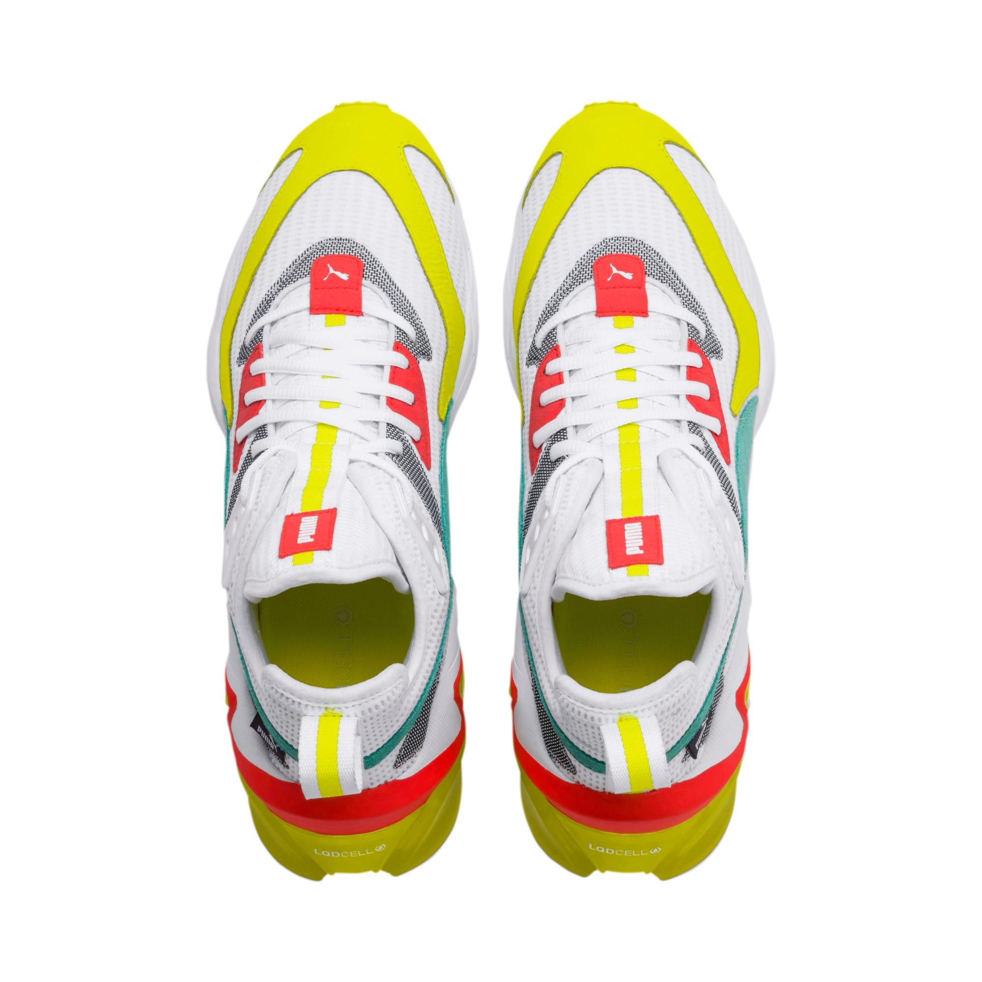 Miniatura 7 de Zapatos de entrenamientoLQDCELL Origin para hombre, Puma White-Yellow Alert, mediano