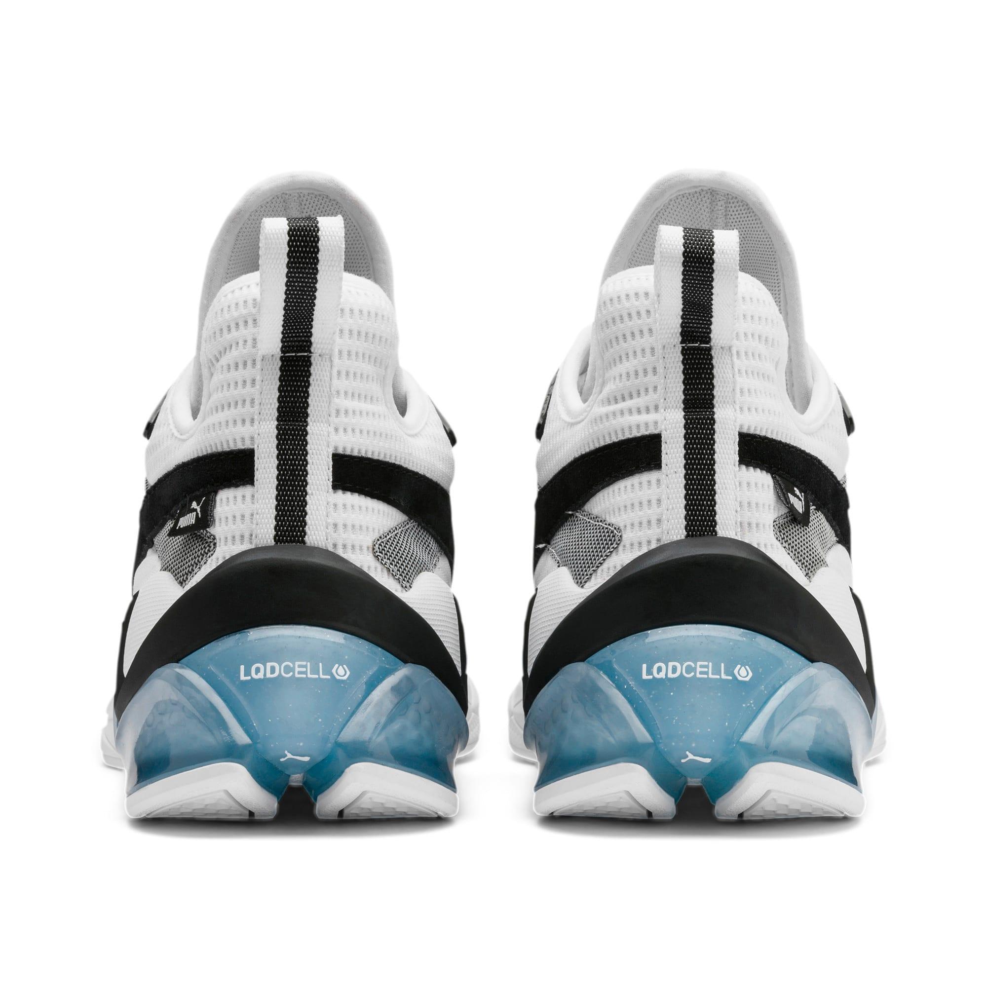 Anteprima 4 di LQDCELL Origin Men's Shoes, Puma White-Puma Black, medio
