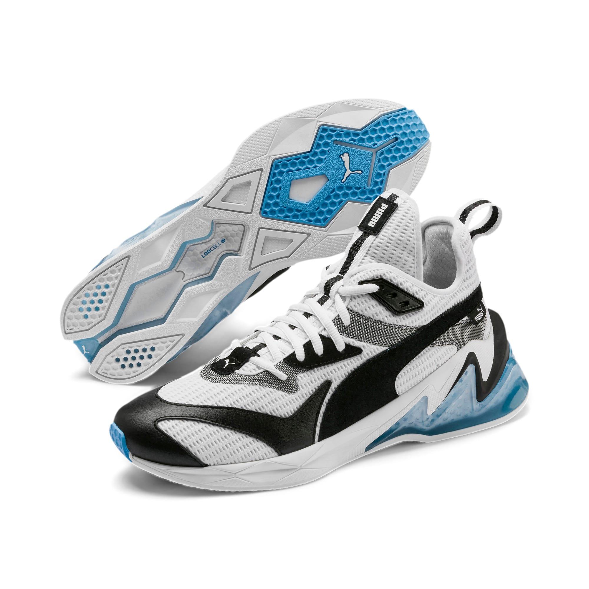 Anteprima 3 di LQDCELL Origin Men's Shoes, Puma White-Puma Black, medio