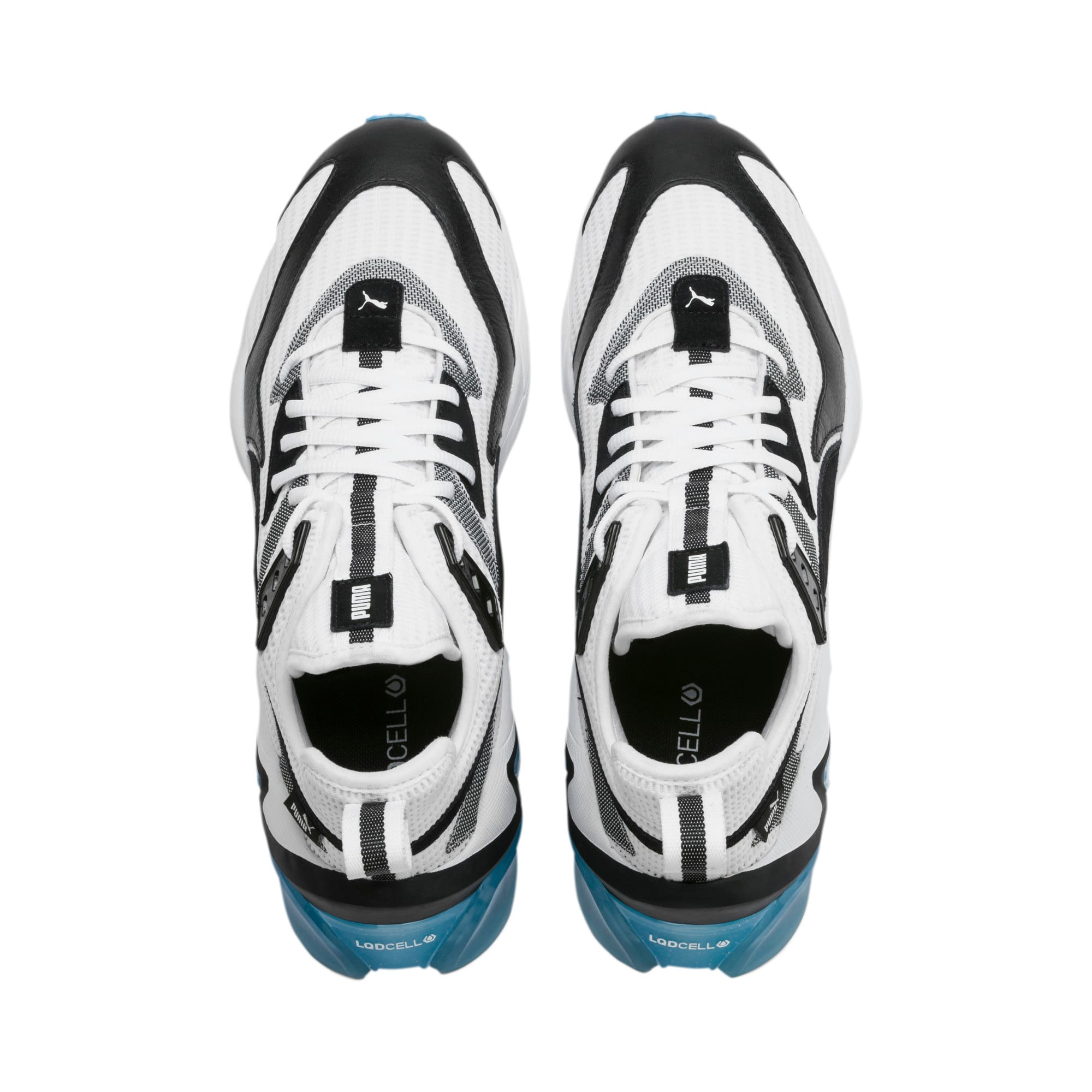 Anteprima 7 di LQDCELL Origin Men's Shoes, Puma White-Puma Black, medio