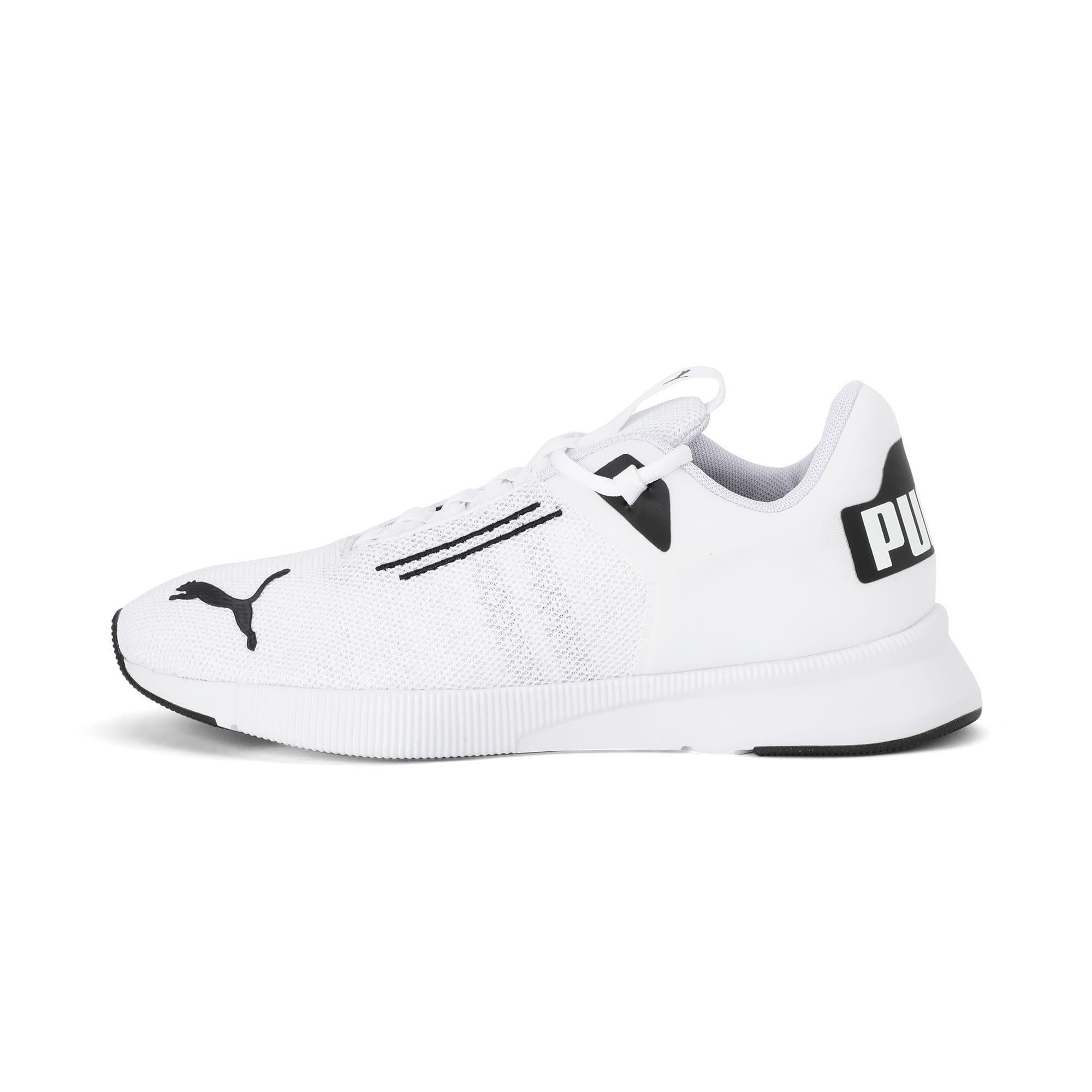 Thumbnail 1 of Flyer Modern Running Shoes, Puma White-Puma Black, medium-IND